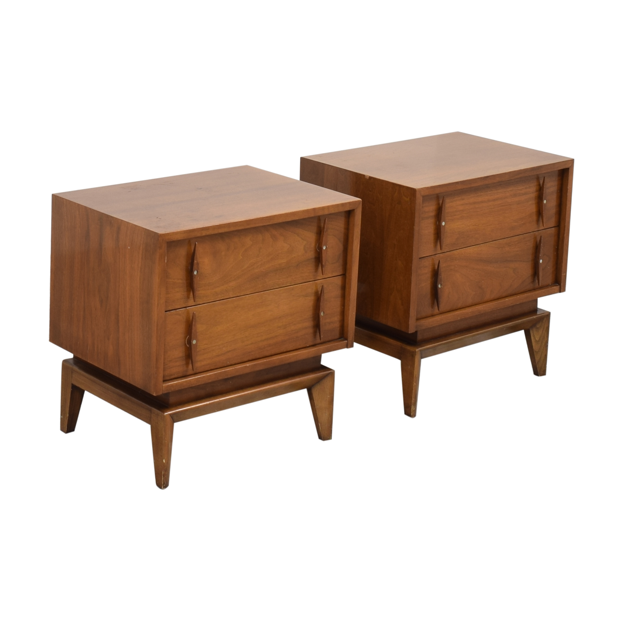 American of Martinsville American of Martinsville Mid-Century Modern End Tables second hand