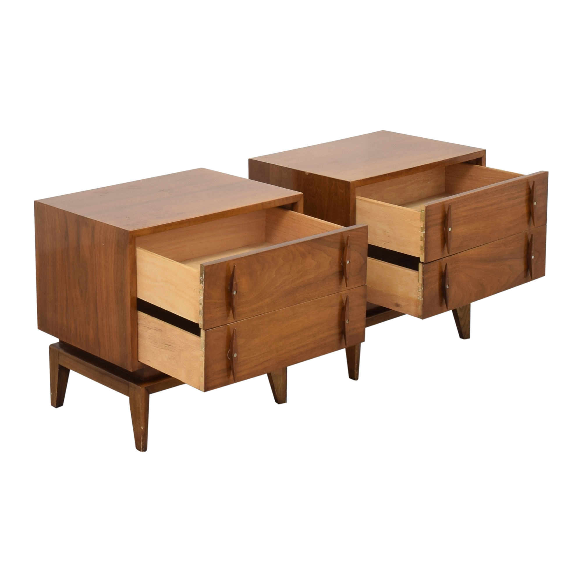American of Martinsville American of Martinsville Mid-Century Modern End Tables ct