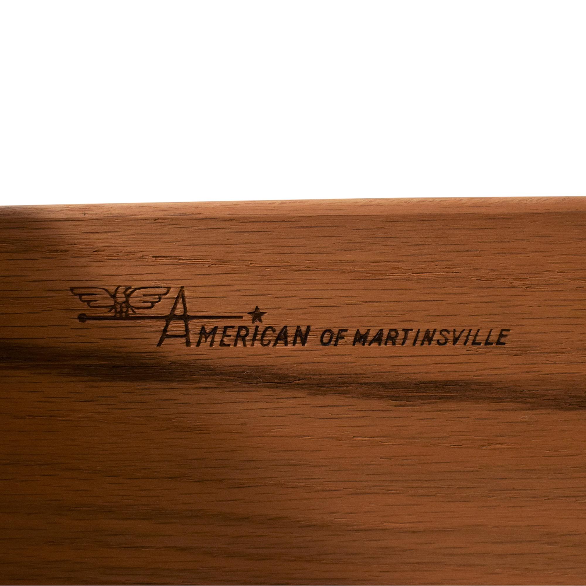 buy American of Martinsville Highboy Dresser American of Martinsville Dressers