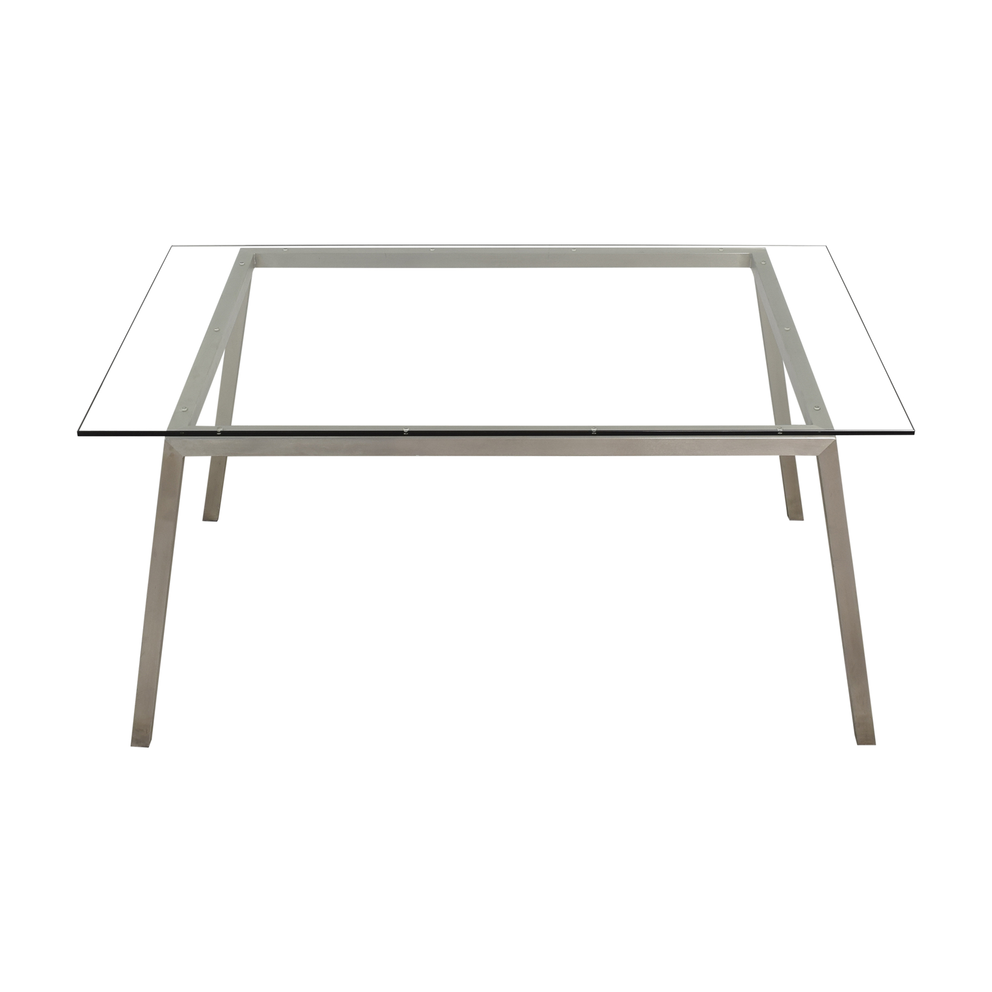Room & Board Room & Board Cass Table silver