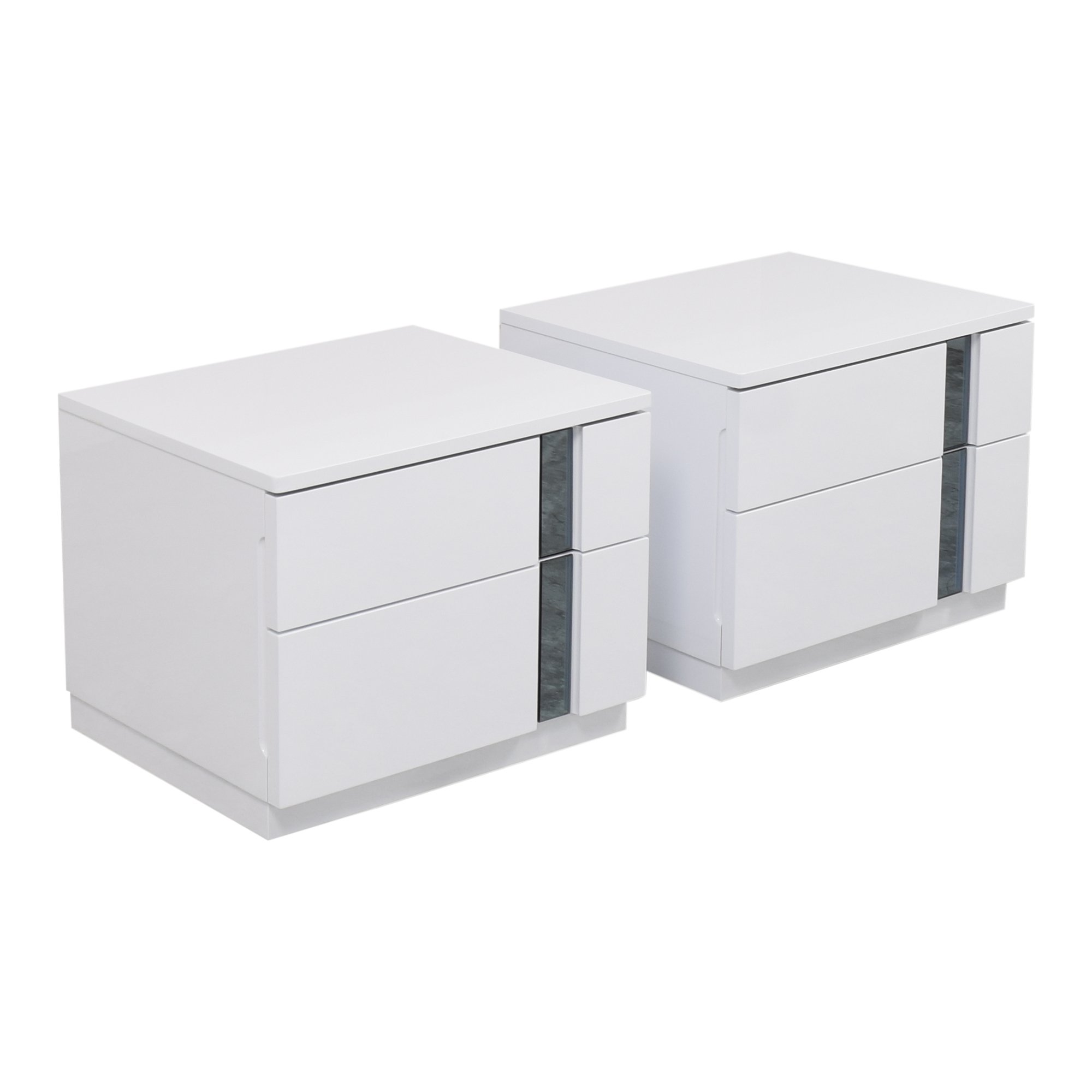 buy Global Furniture Modern Two Drawer Nightstands Global Tables