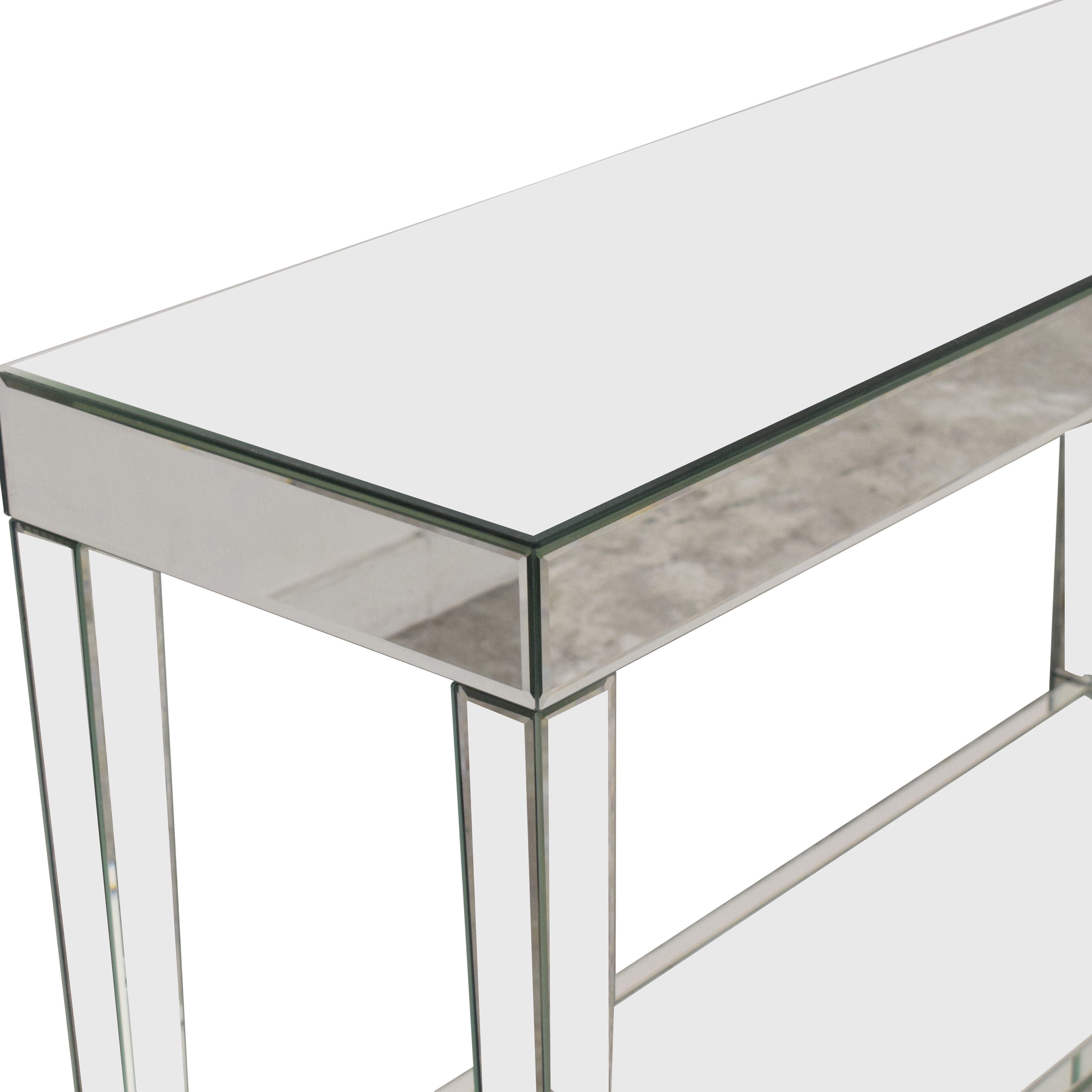 Howard Elliot Collection Howard Elliott Orion Mirrored Console Table With Shelf dimensions
