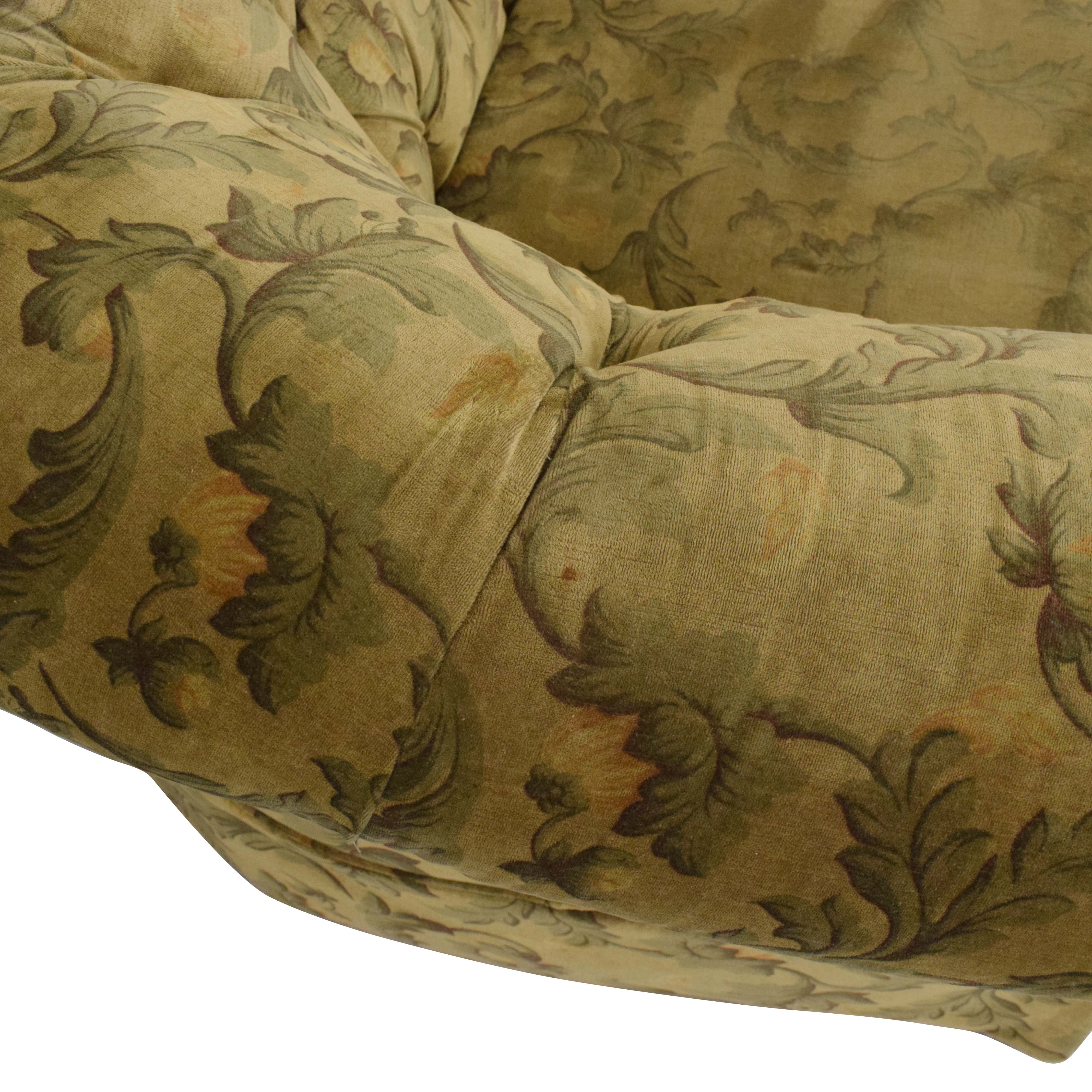 buy Curved Back Rolled Arm Tufted Sofa  Sofas