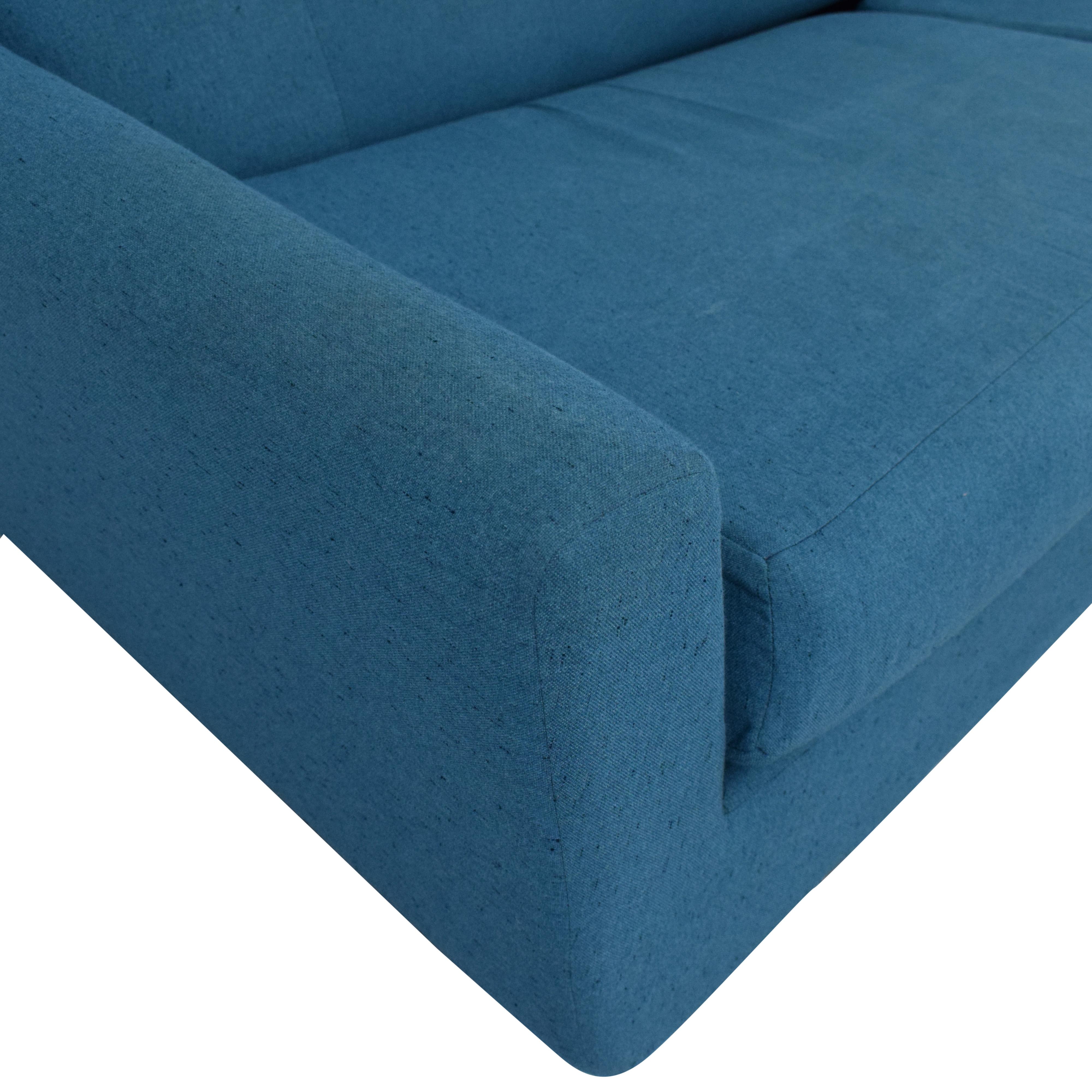 Joybird Joybird Hughes Sleeper Sofa dimensions