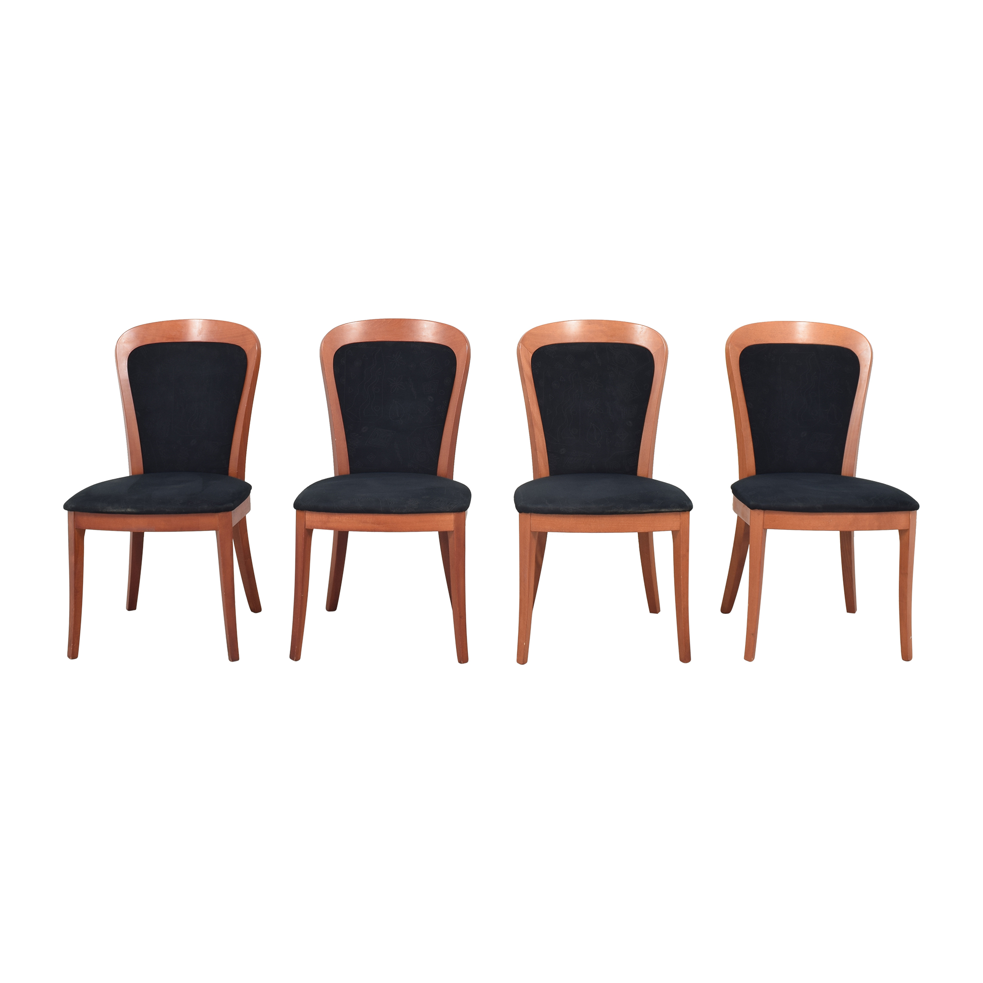 SA A. Sibau SA A. Sibau Dining Chairs brown & black