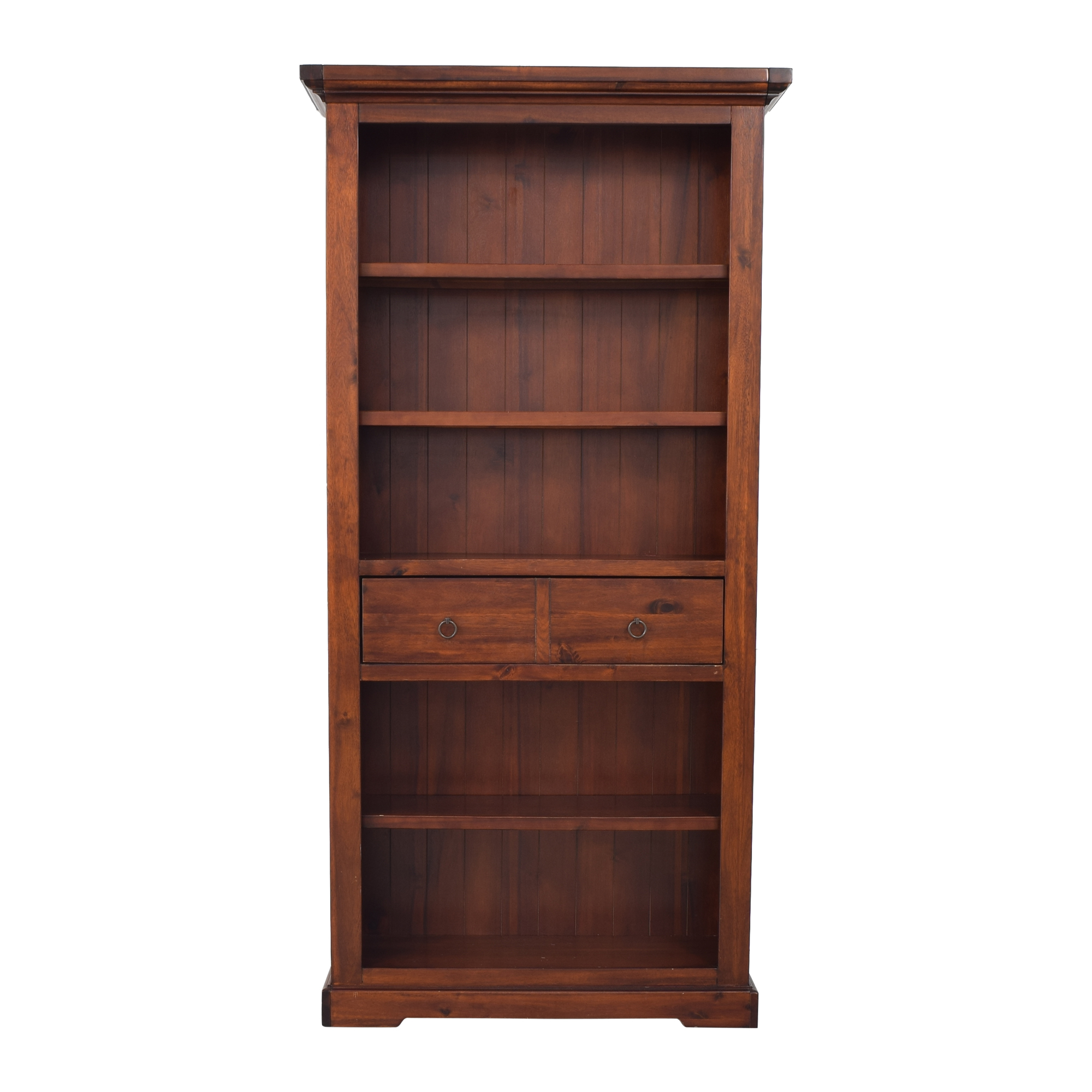 Tall Bookshelf with Drawer Bookcases & Shelving