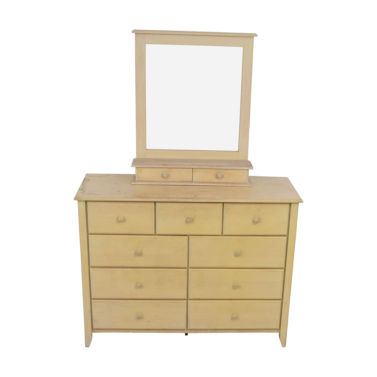 Gothic Cabinet Craft Gothic Cabinet Craft Nine-Drawer Dresser with Vanity Mirror discount