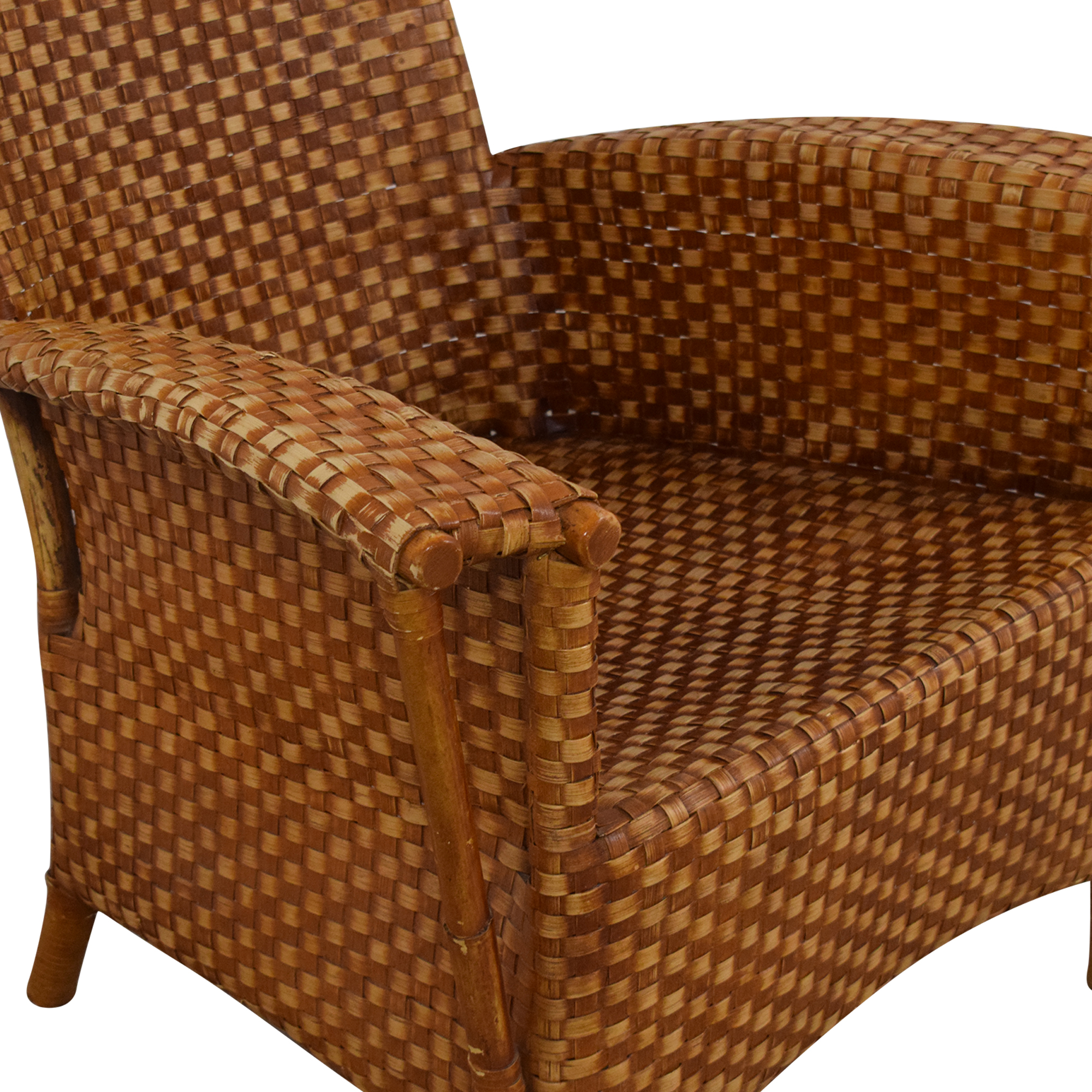 Crat & Barrel Wicker Chair / Accent Chairs