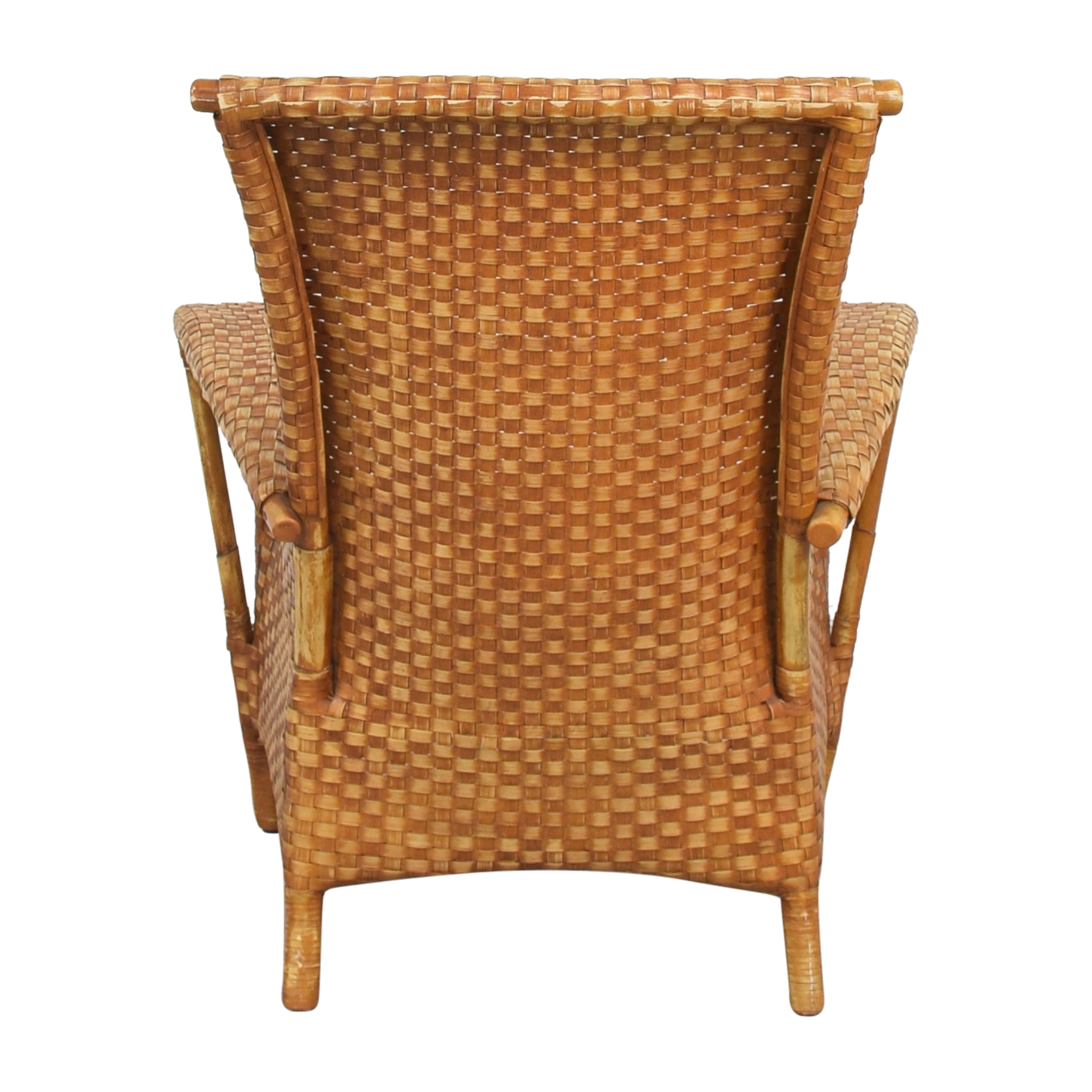 Crate & Barrel Crat & Barrel Wicker Chair ct