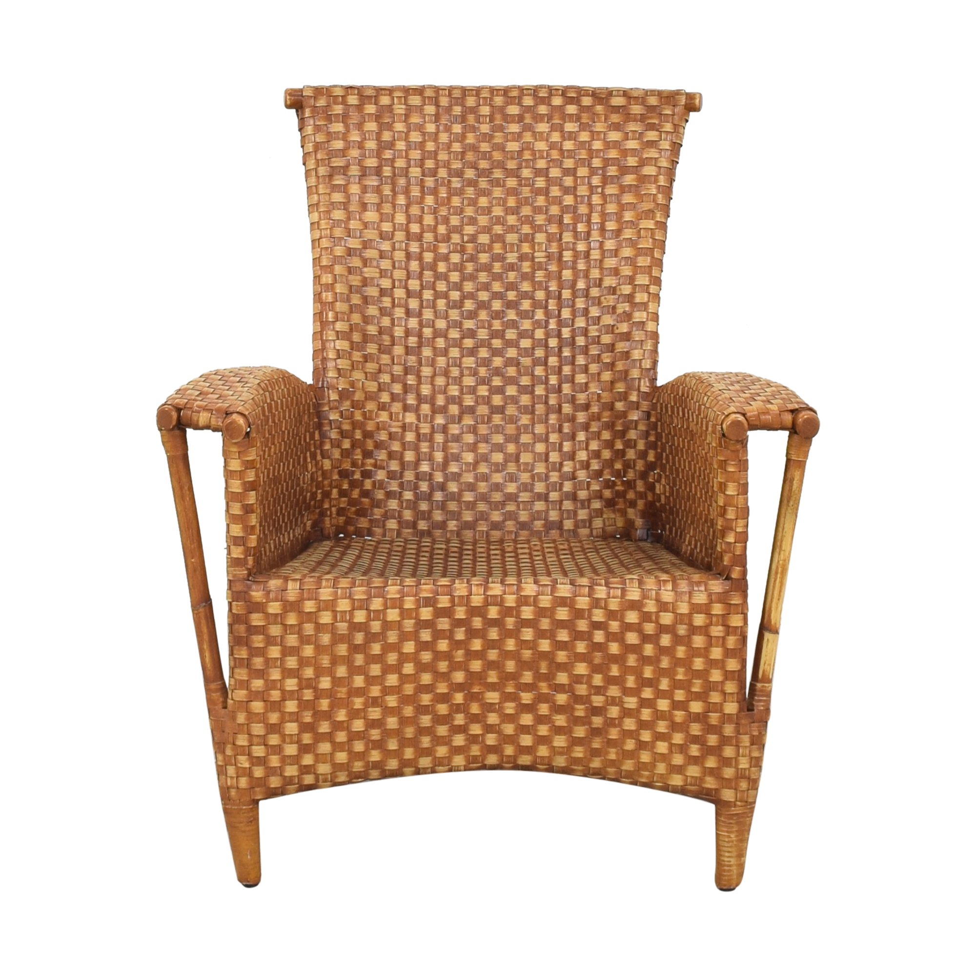 Crate & Barrel Crat & Barrel Wicker Chair pa