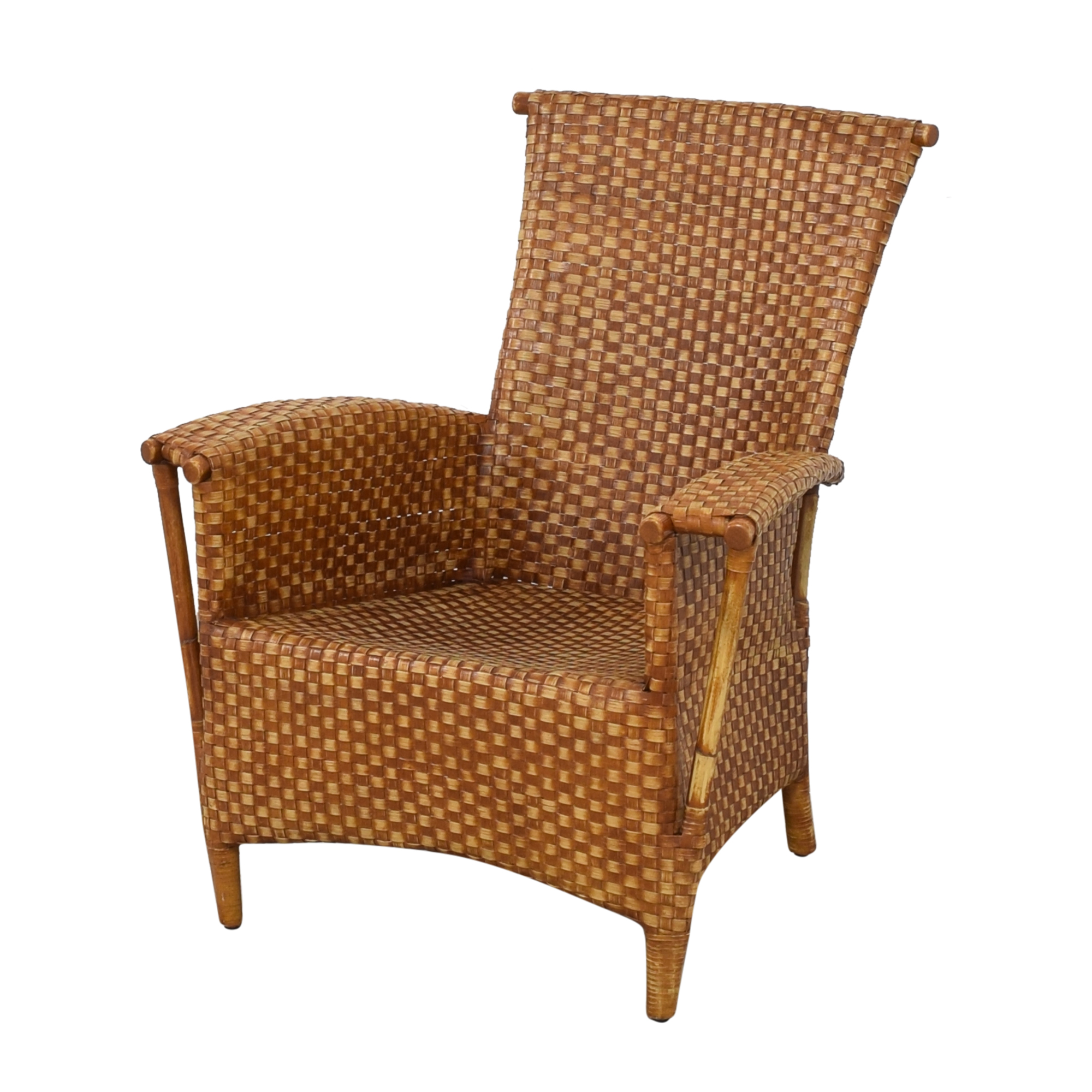 Crat & Barrel Wicker Chair / Chairs