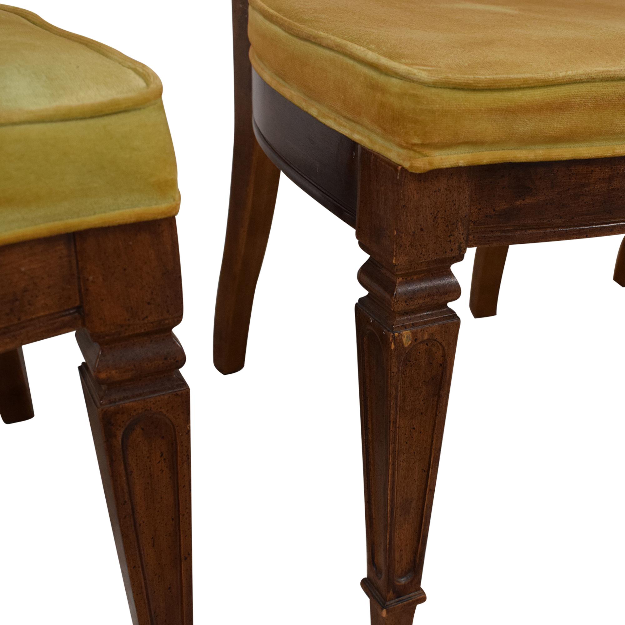 Thomasville Thomasville Italian Provincial Style Dining Chairs nj