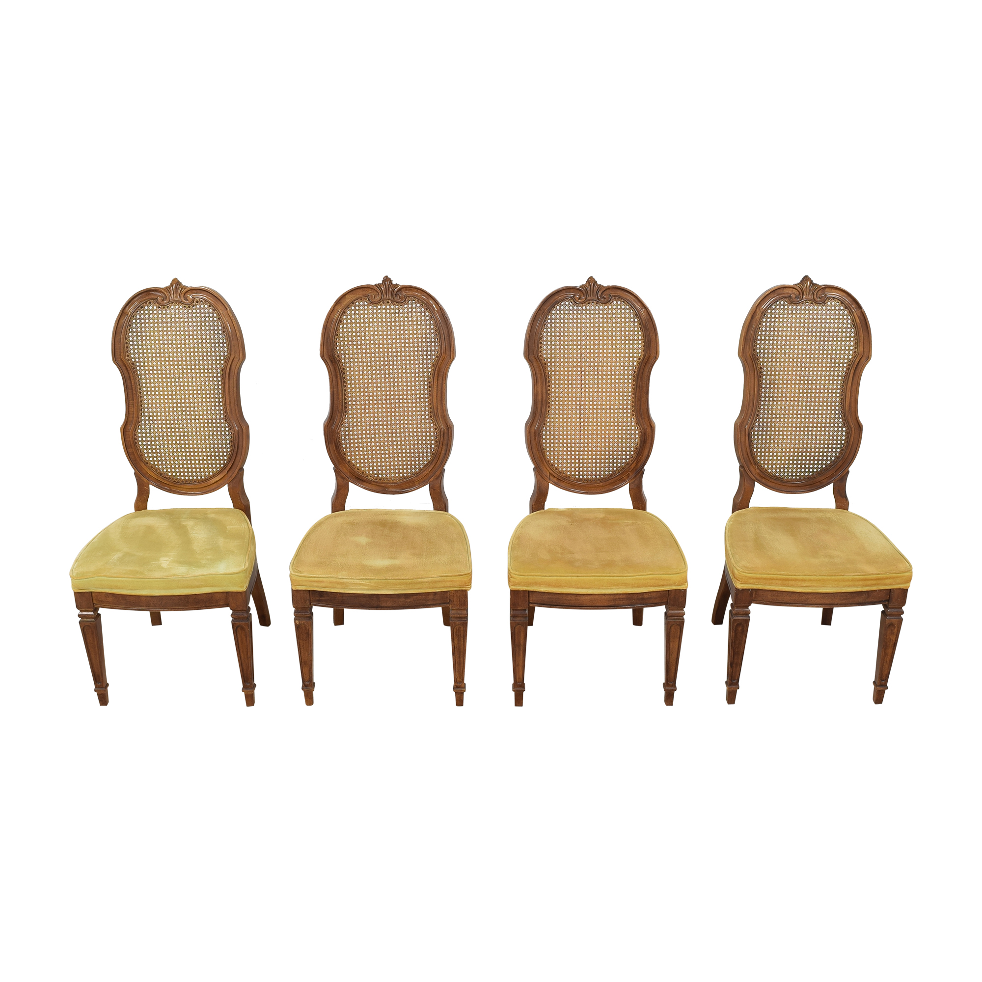 shop Thomasville Italian Provincial Style Dining Chairs Thomasville Chairs