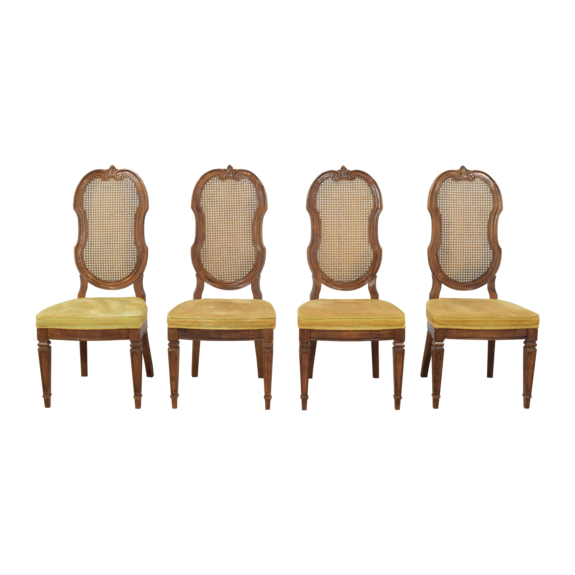 Thomasville Italian Provincial Style Dining Chairs / Chairs