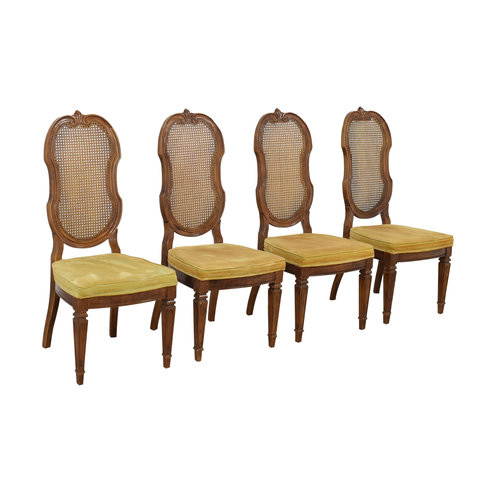 Thomasville Thomasville Italian Provincial Style Dining Chairs ma