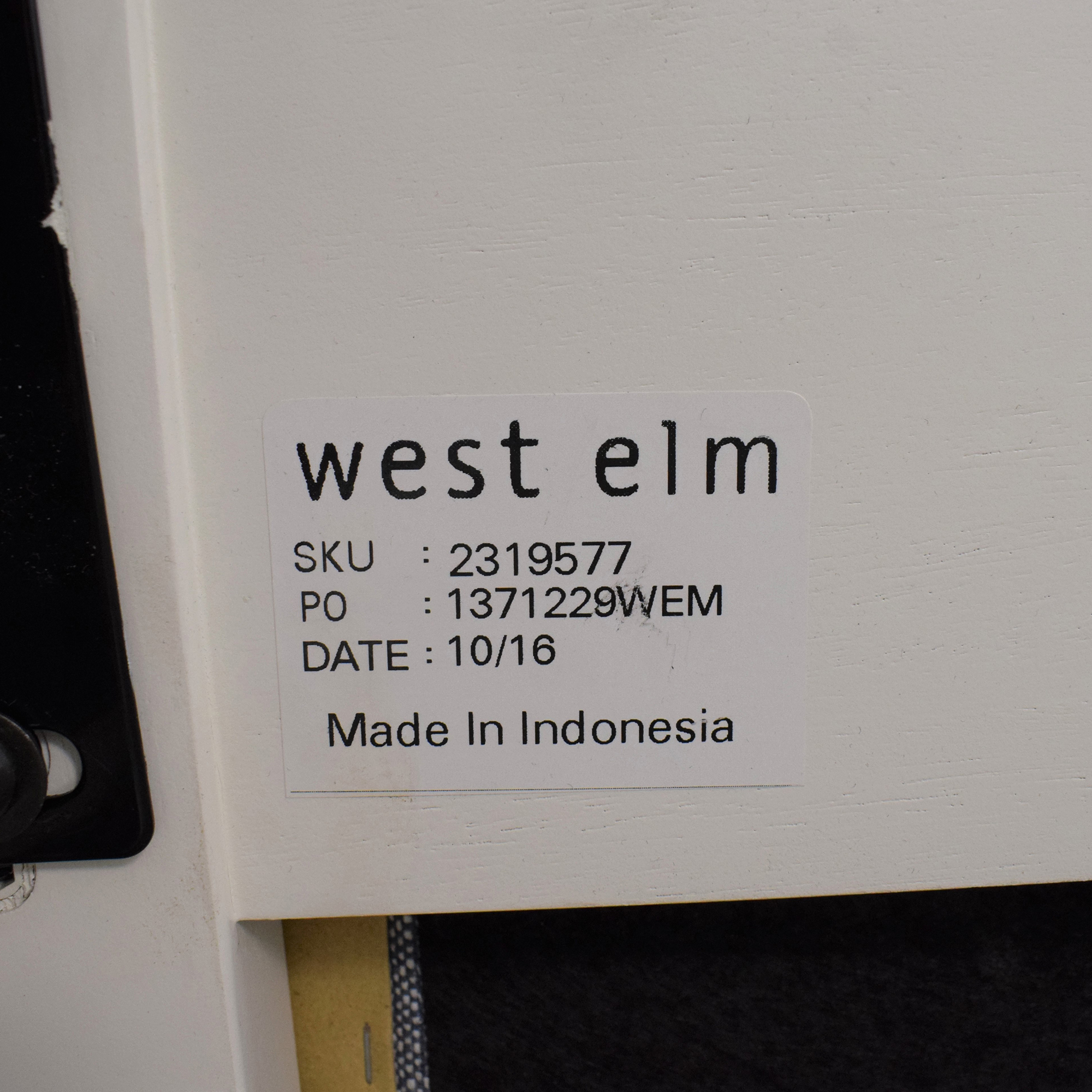 West Elm West Elm Full Size Simple Bed Frame with Upholstered Headboard coupon