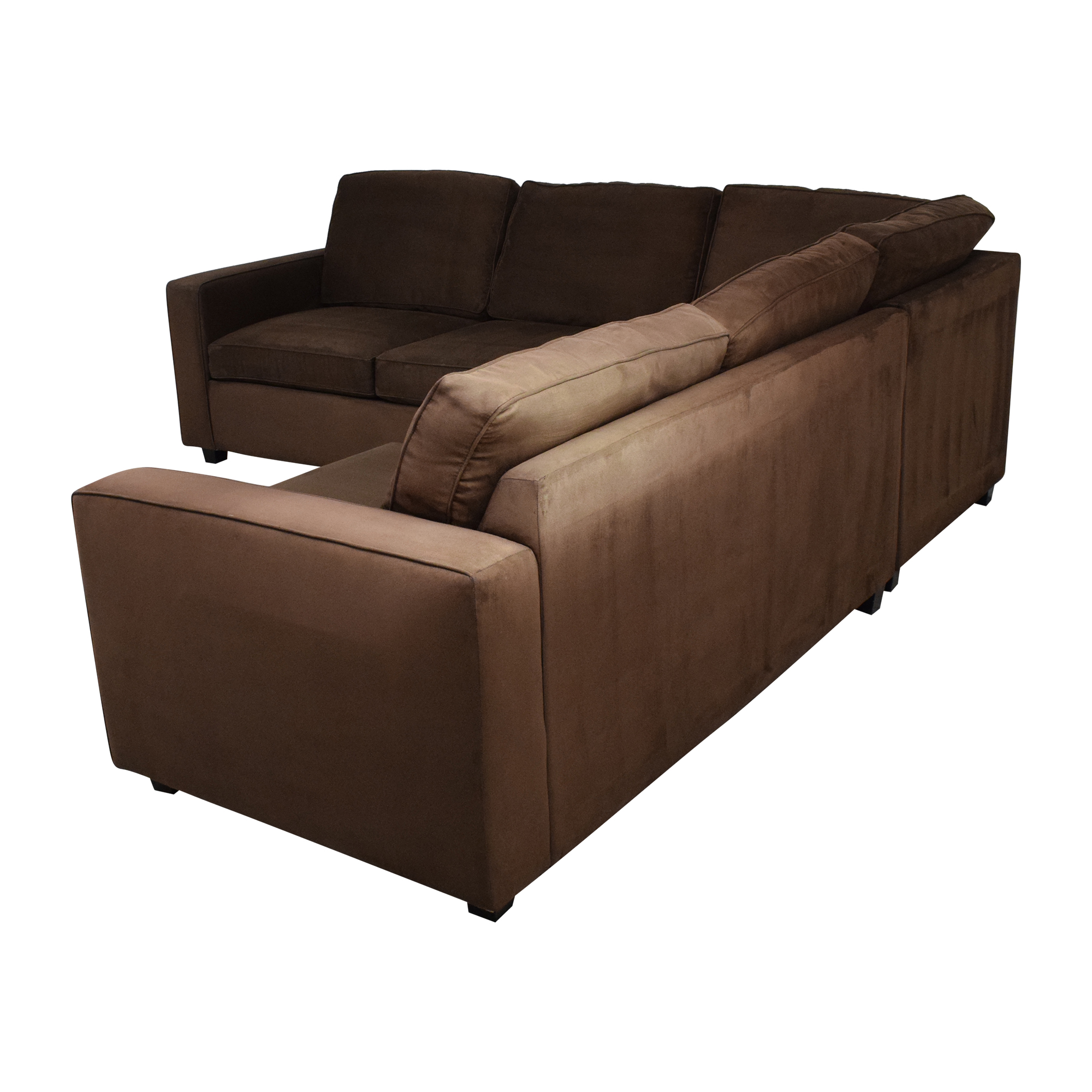 L-Shaped Sleeper Sofa on sale
