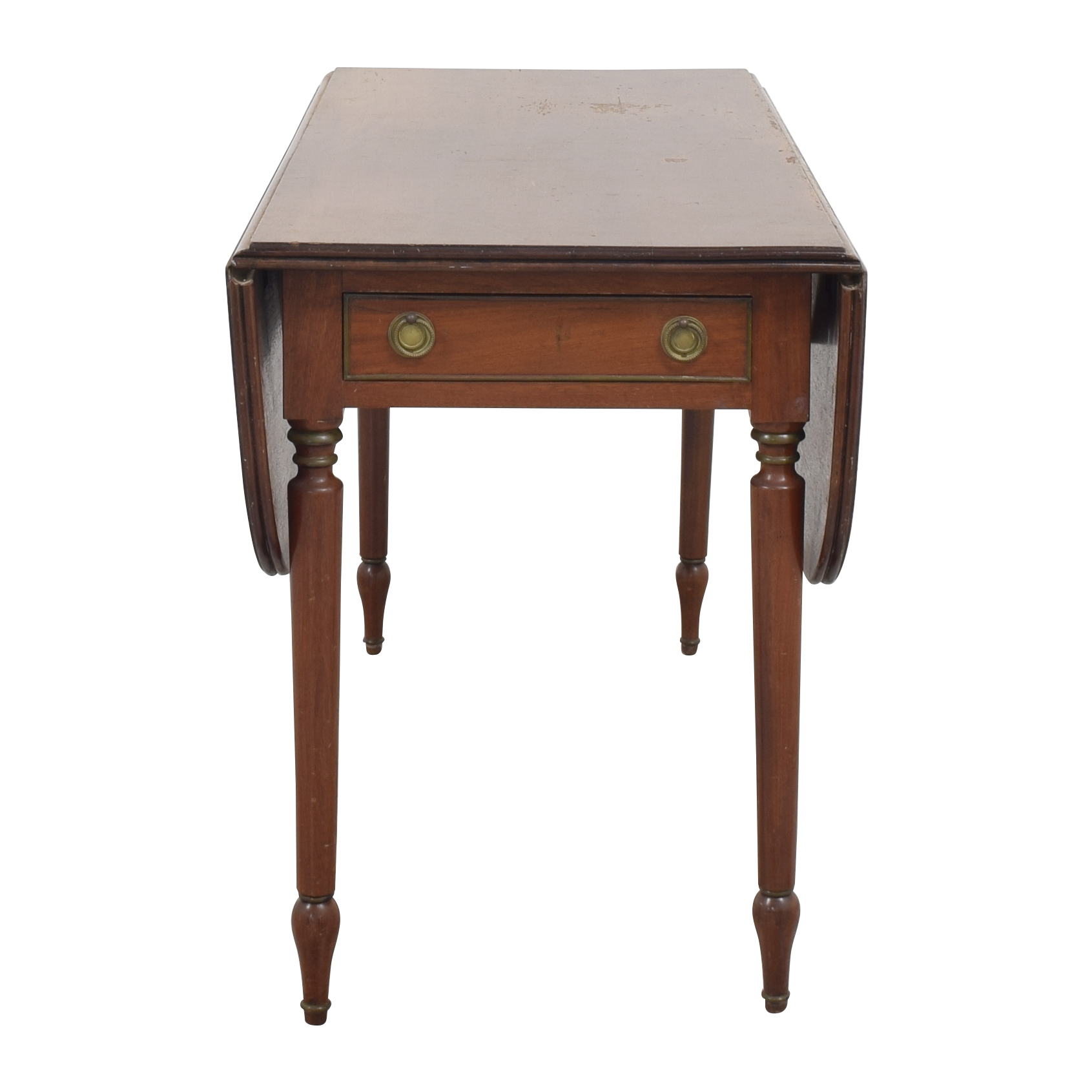 buy American Federal Drop Leaf Console Table A-America Wood Furniture Utility Tables