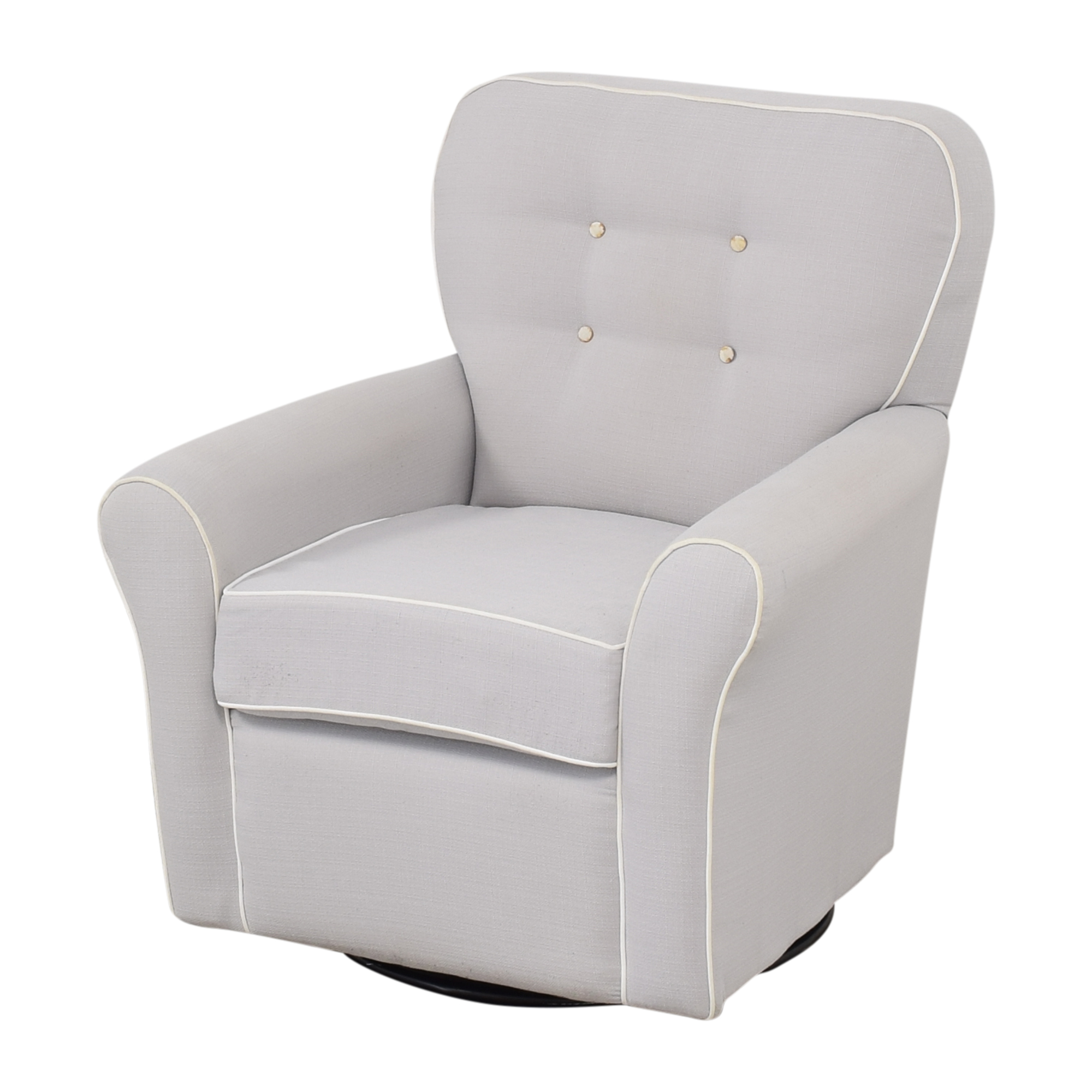 buy Tufted Glider Swivel Rocker Chair
