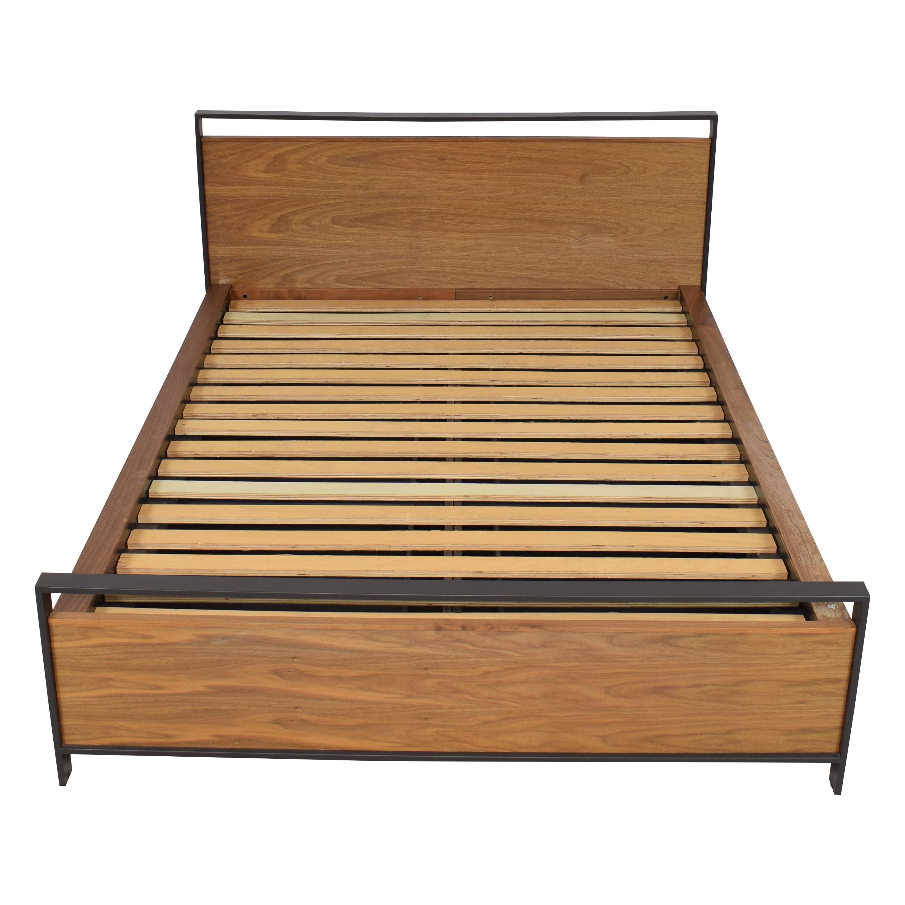 Crate & Barrel Crate & Barrel Queen Storage Bed nyc
