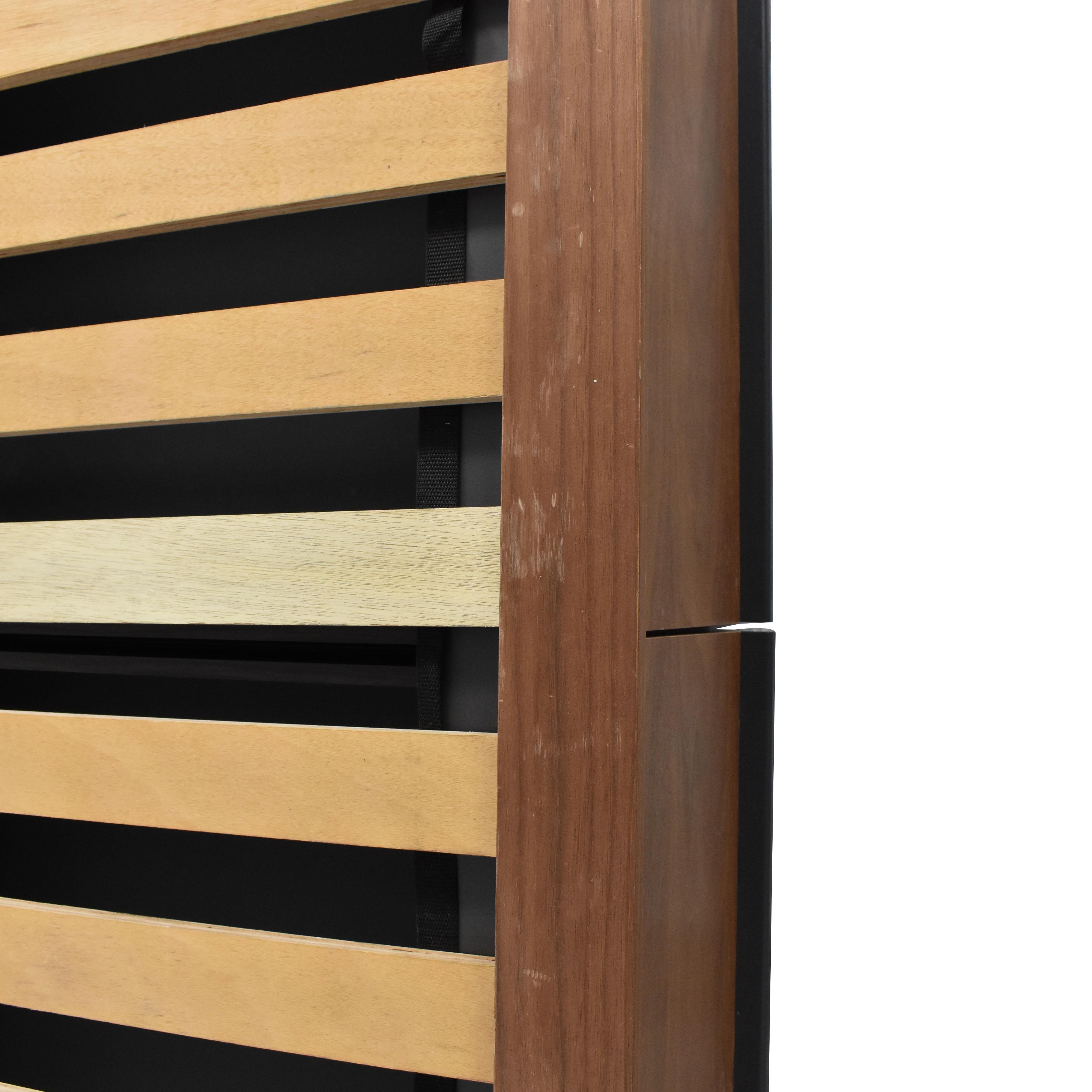 Crate & Barrel Crate & Barrel Queen Storage Bed dimensions