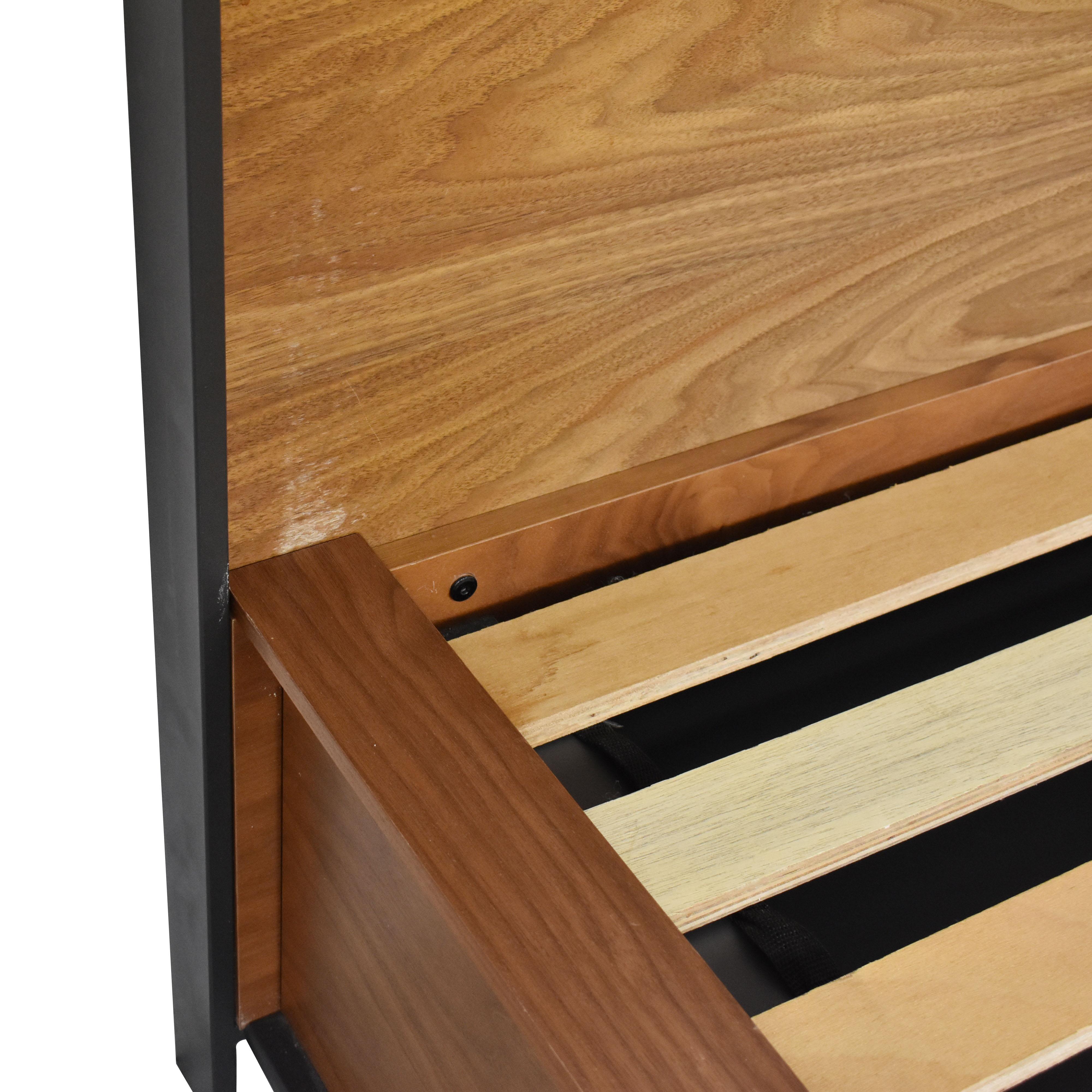 Crate & Barrel Queen Storage Bed Crate & Barrel