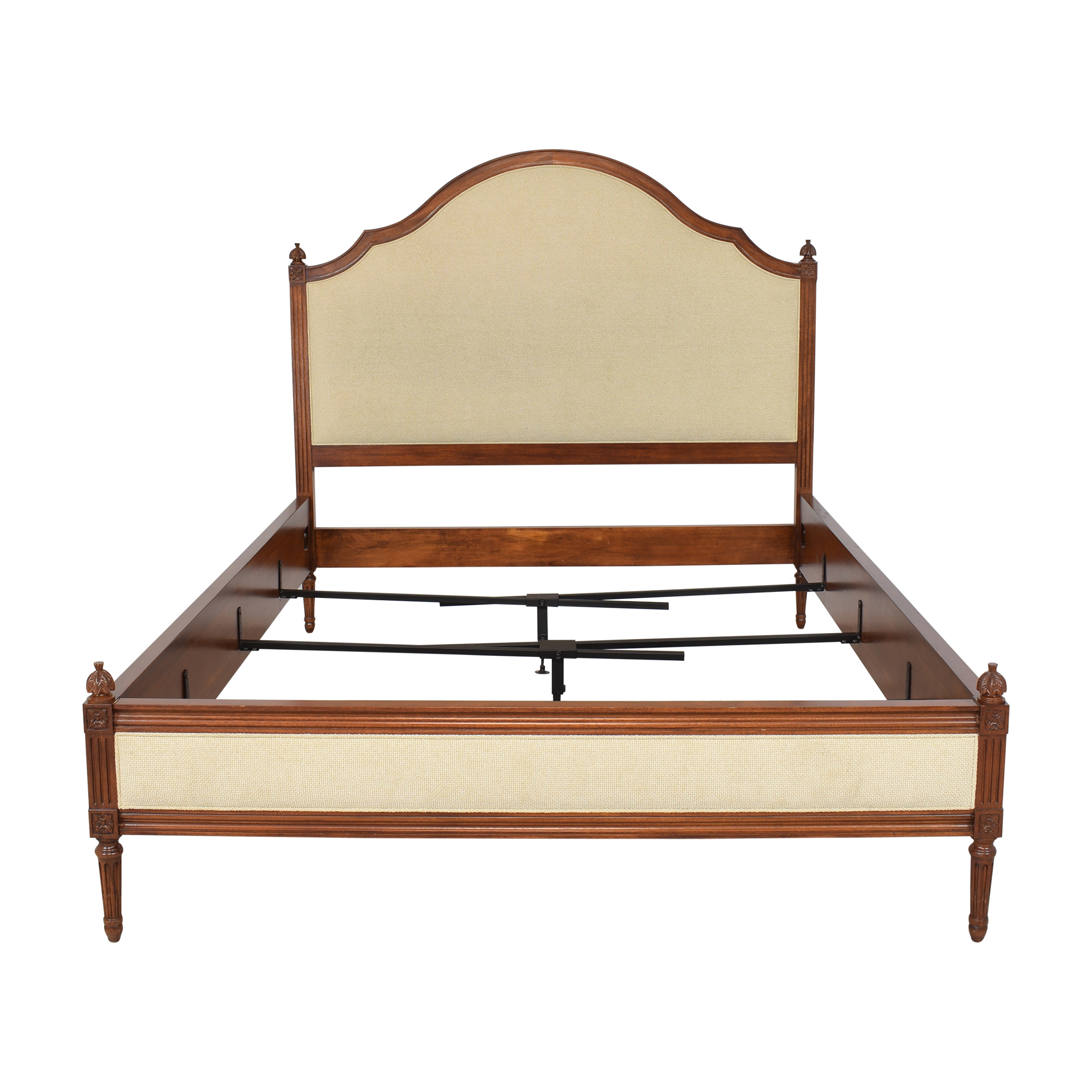 shop Hickory Chair Simone Upholstered Queen Bed Hickory Chair