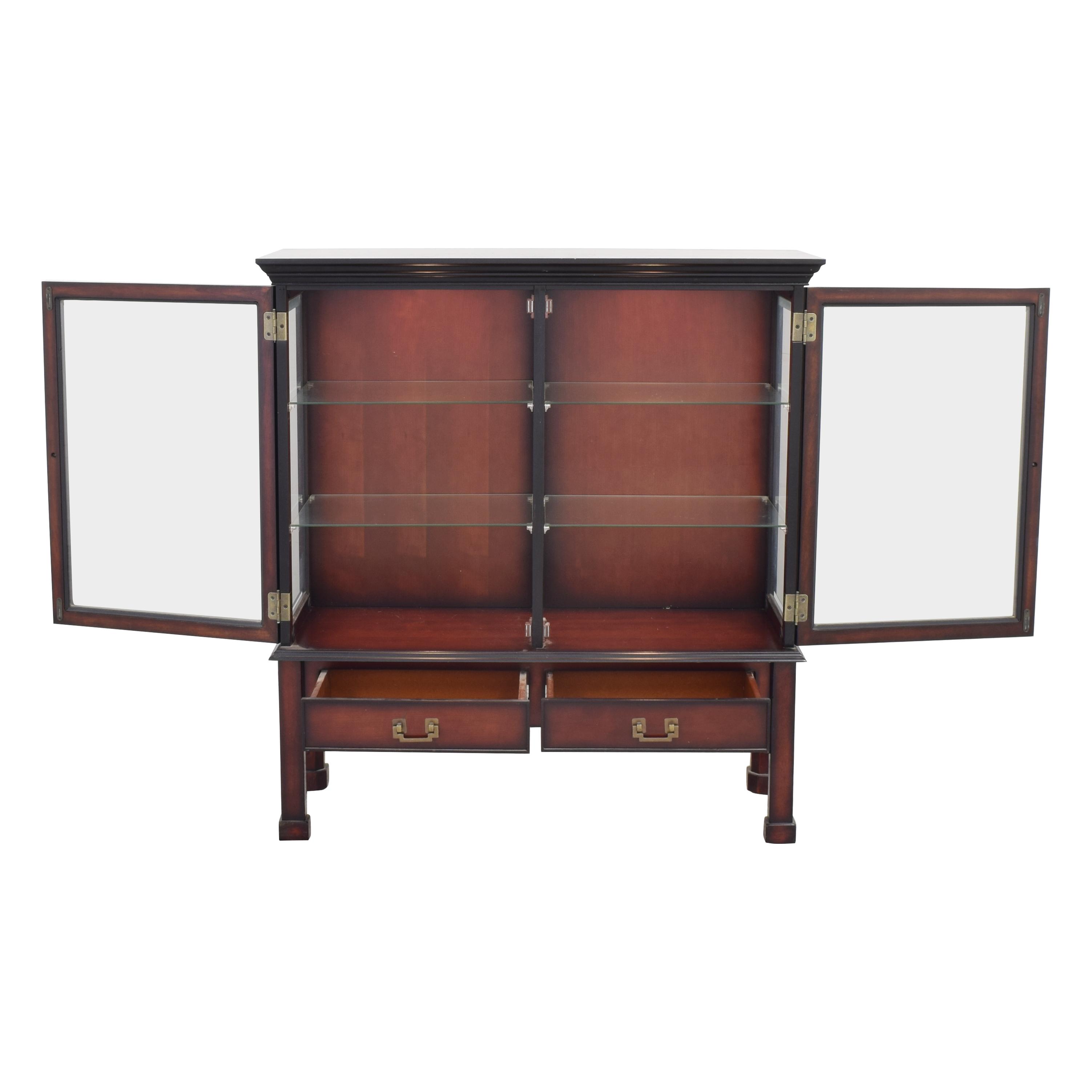 Bombay Company Bombay Company Hutch Display Cabinet ma