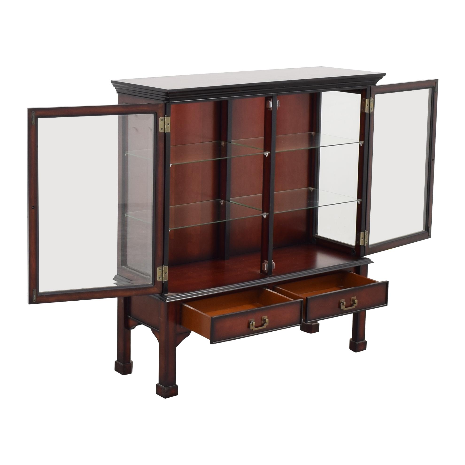 Bombay Company Bombay Company Hutch Display Cabinet dimensions