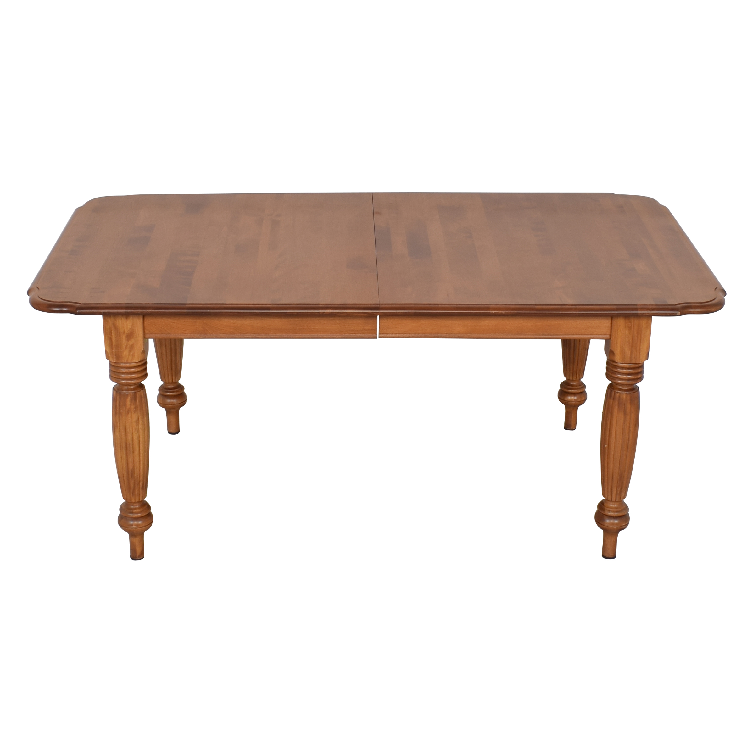 Nichols & Stone Nichols & Stone Extendable Dining Table brown
