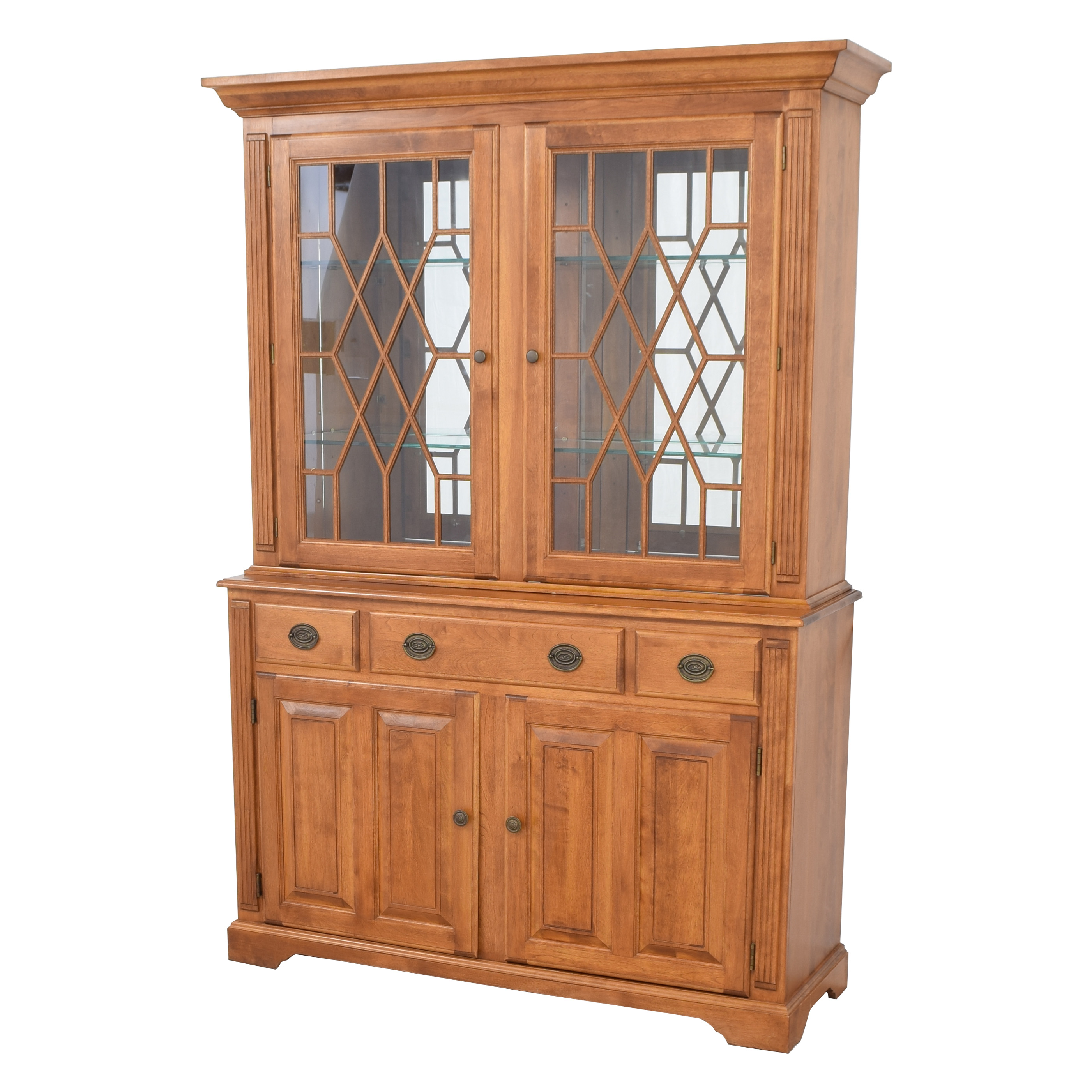 Nichols & Stone Nichols & Stone Vintage Cabinet Buffet with Shelves Cabinets & Sideboards