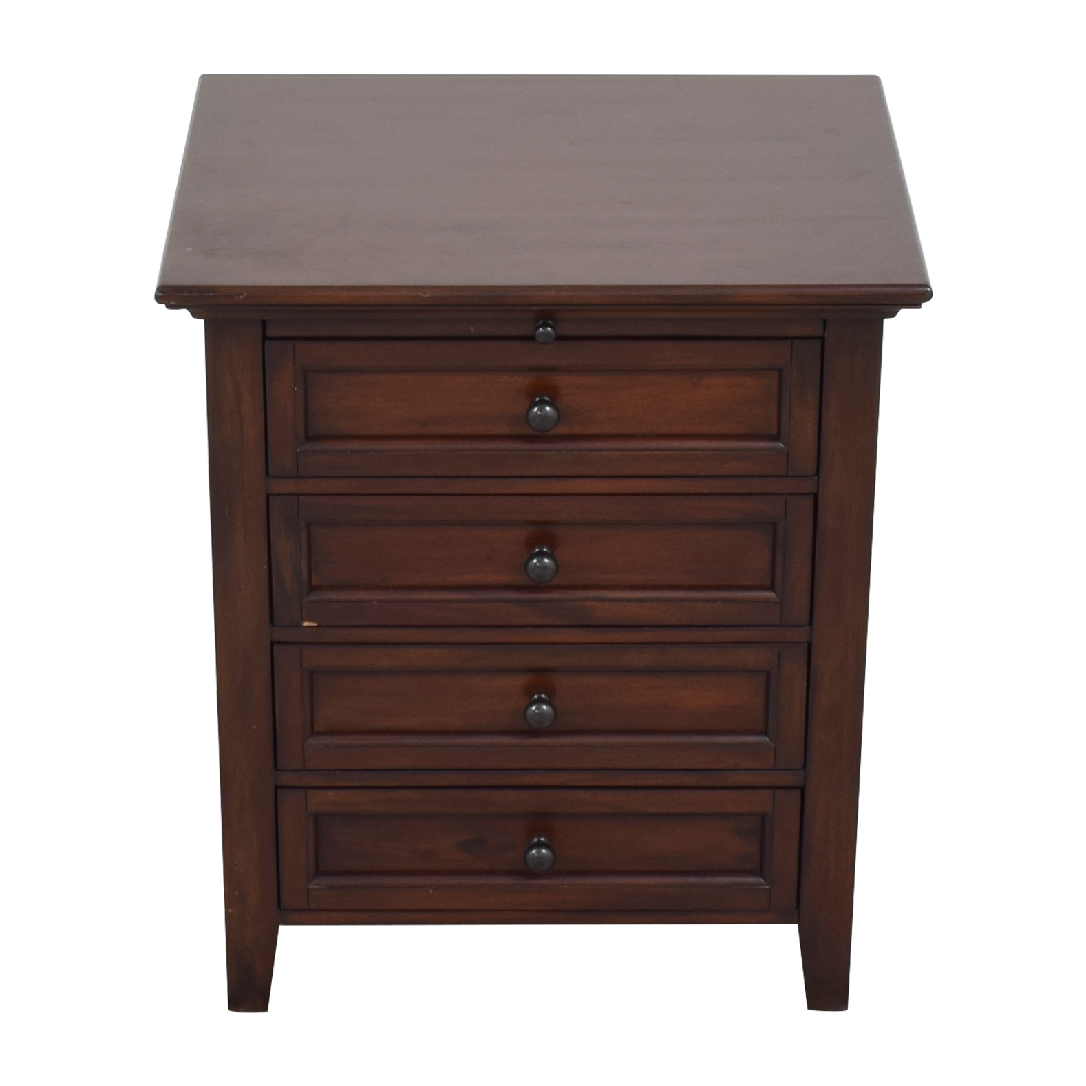 Pottery Barn Hudson 4-Drawer Nightstand / End Tables