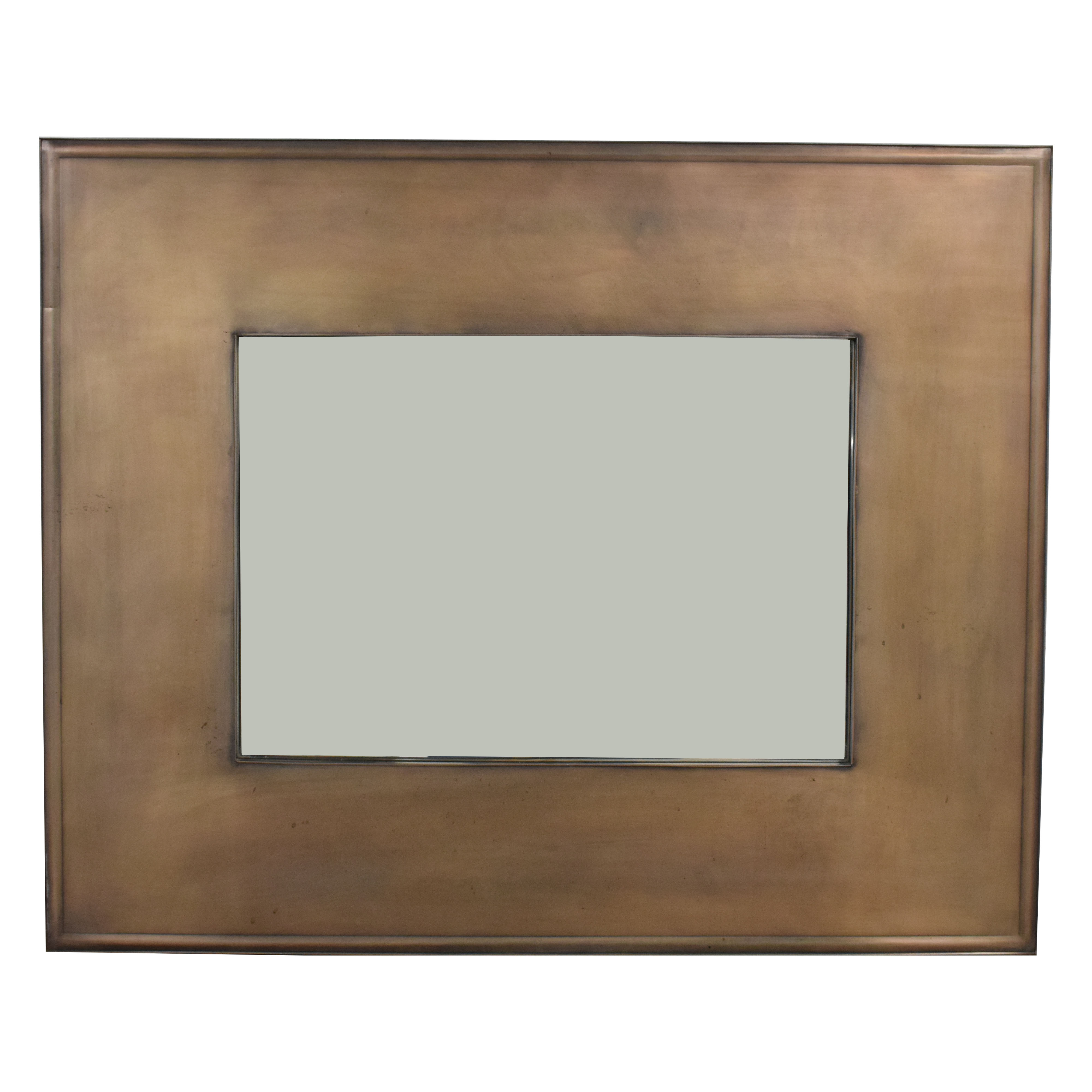 buy Crate & Barrel Crate & Barrel Antique Bronze Mirror online