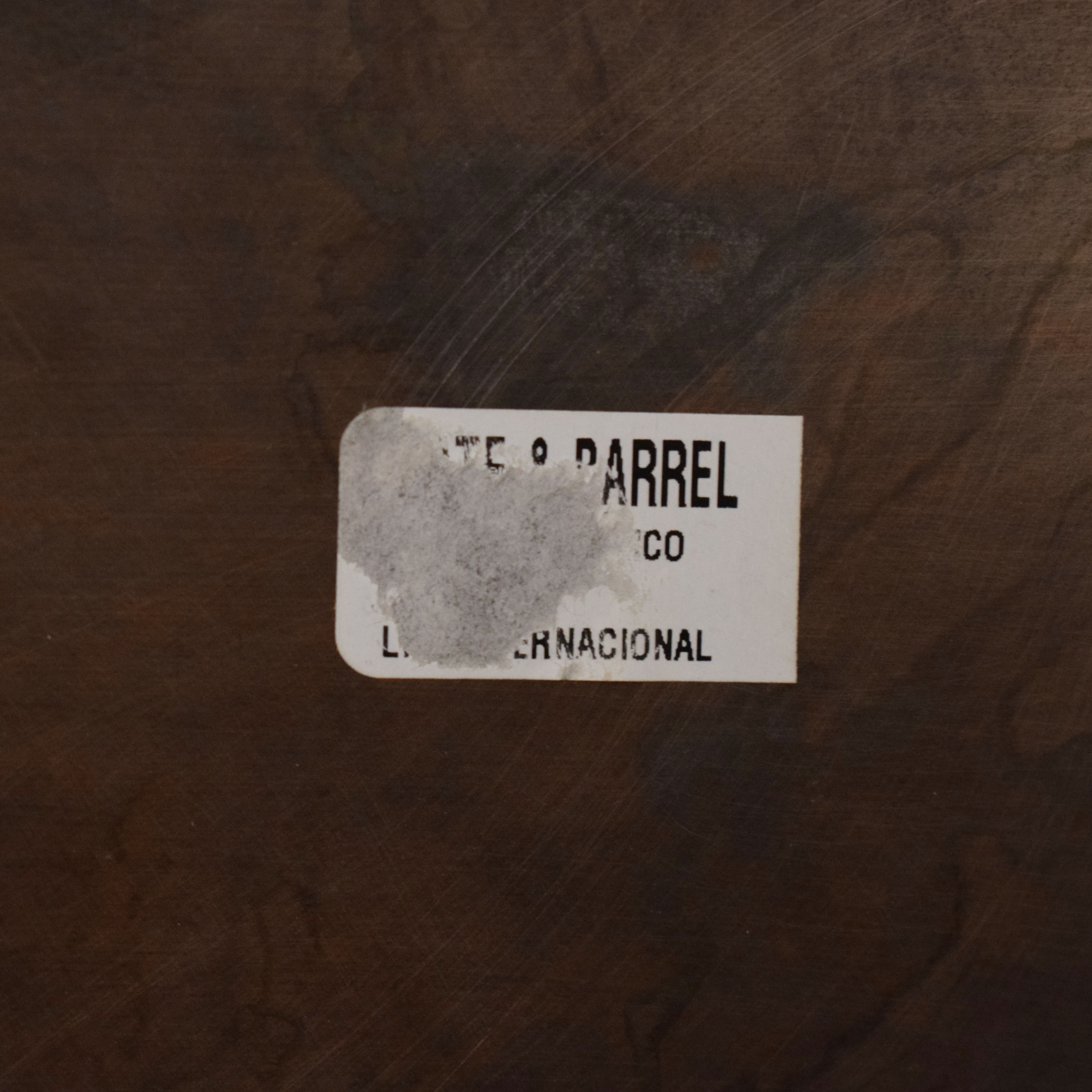 Crate & Barrel Antique Bronze Mirror / Mirrors