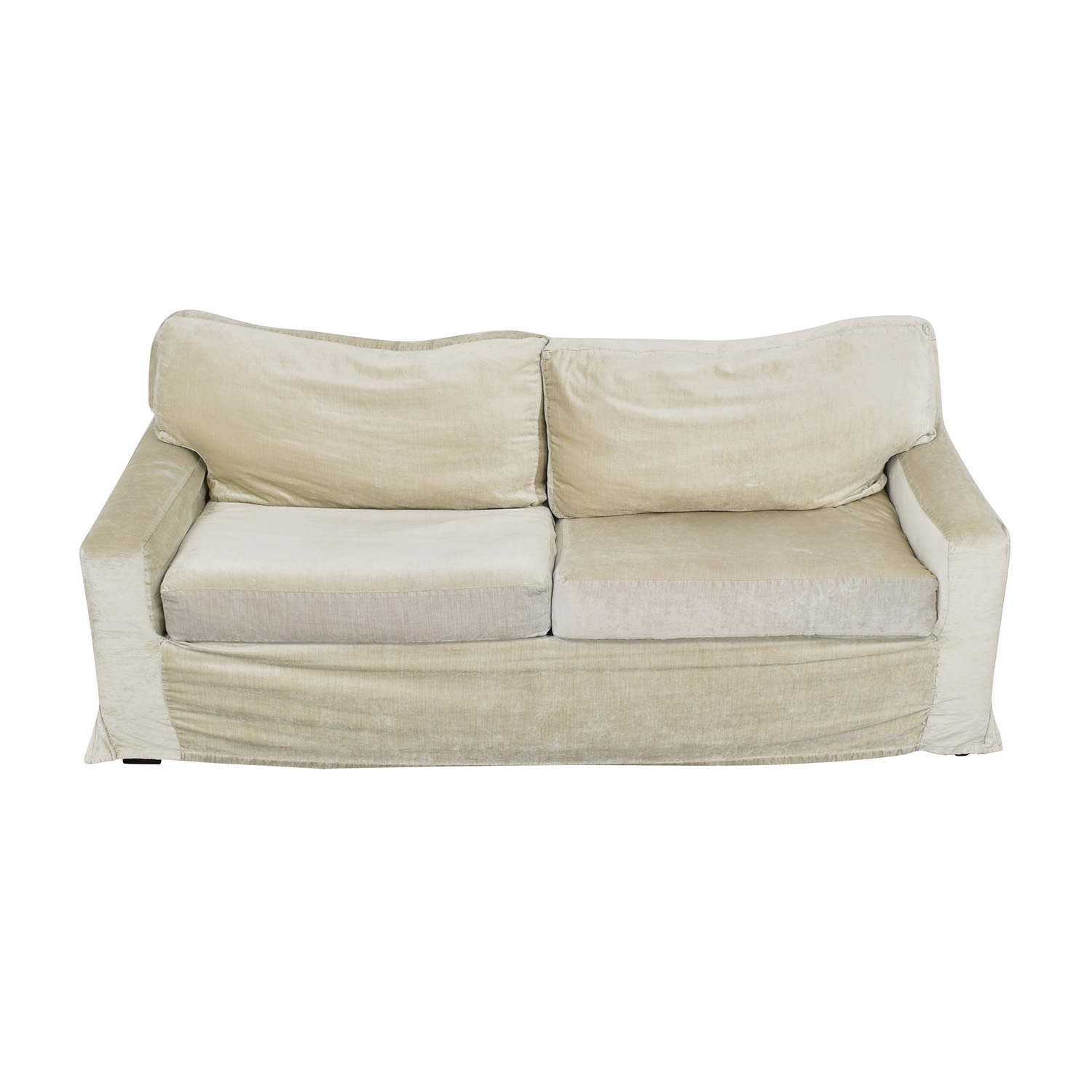 Mitchell Gold + Bob Williams Dominique Slipcovered Queen Sleeper Sofa sale