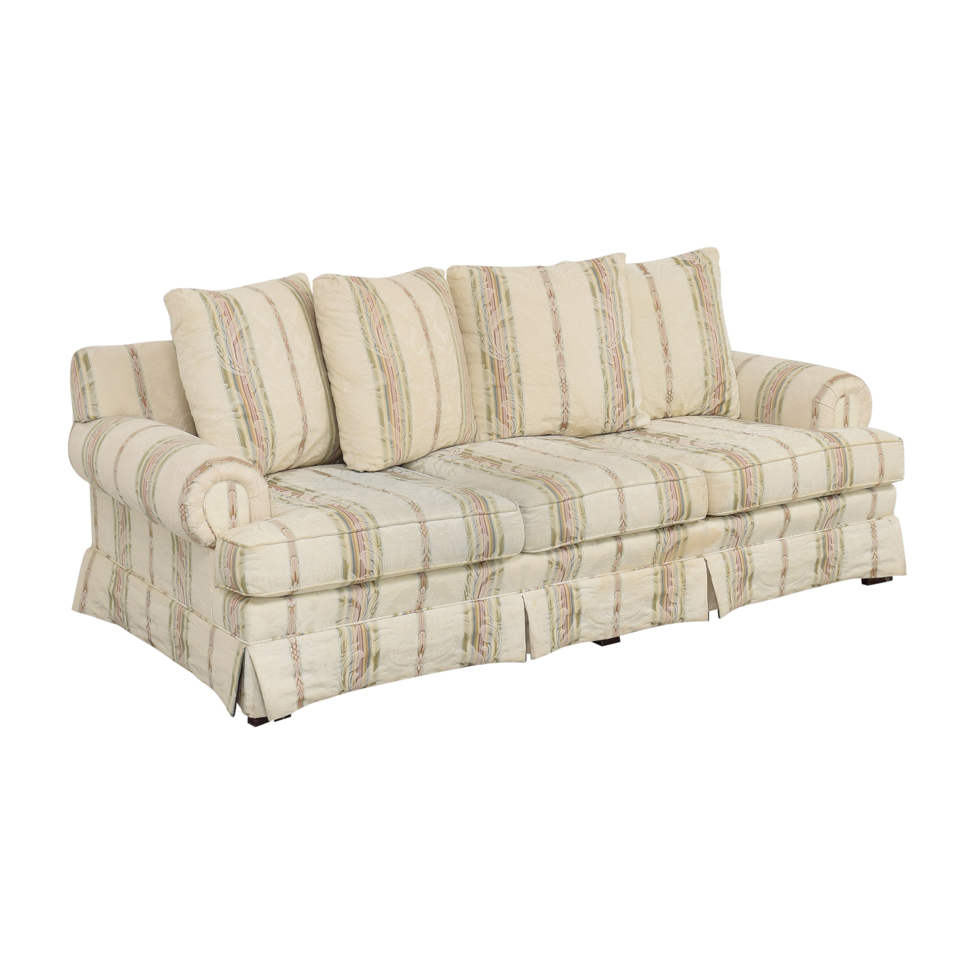 buy Broyhill Furniture Layered Pillow Sofa Broyhill Furniture