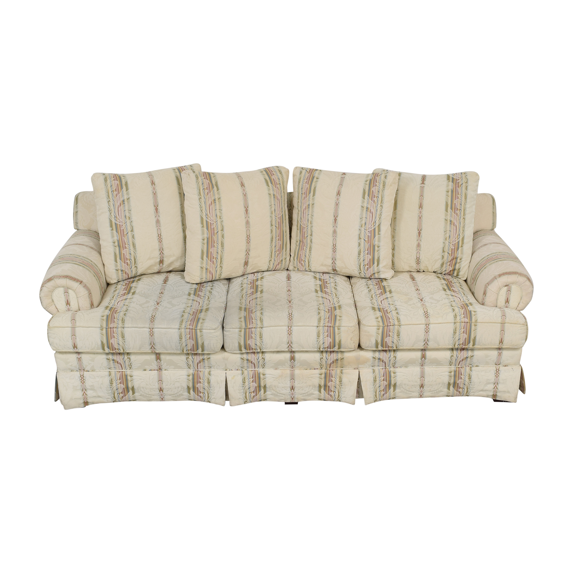 Broyhill Furniture Broyhill Furniture Layered Pillow Sofa on sale