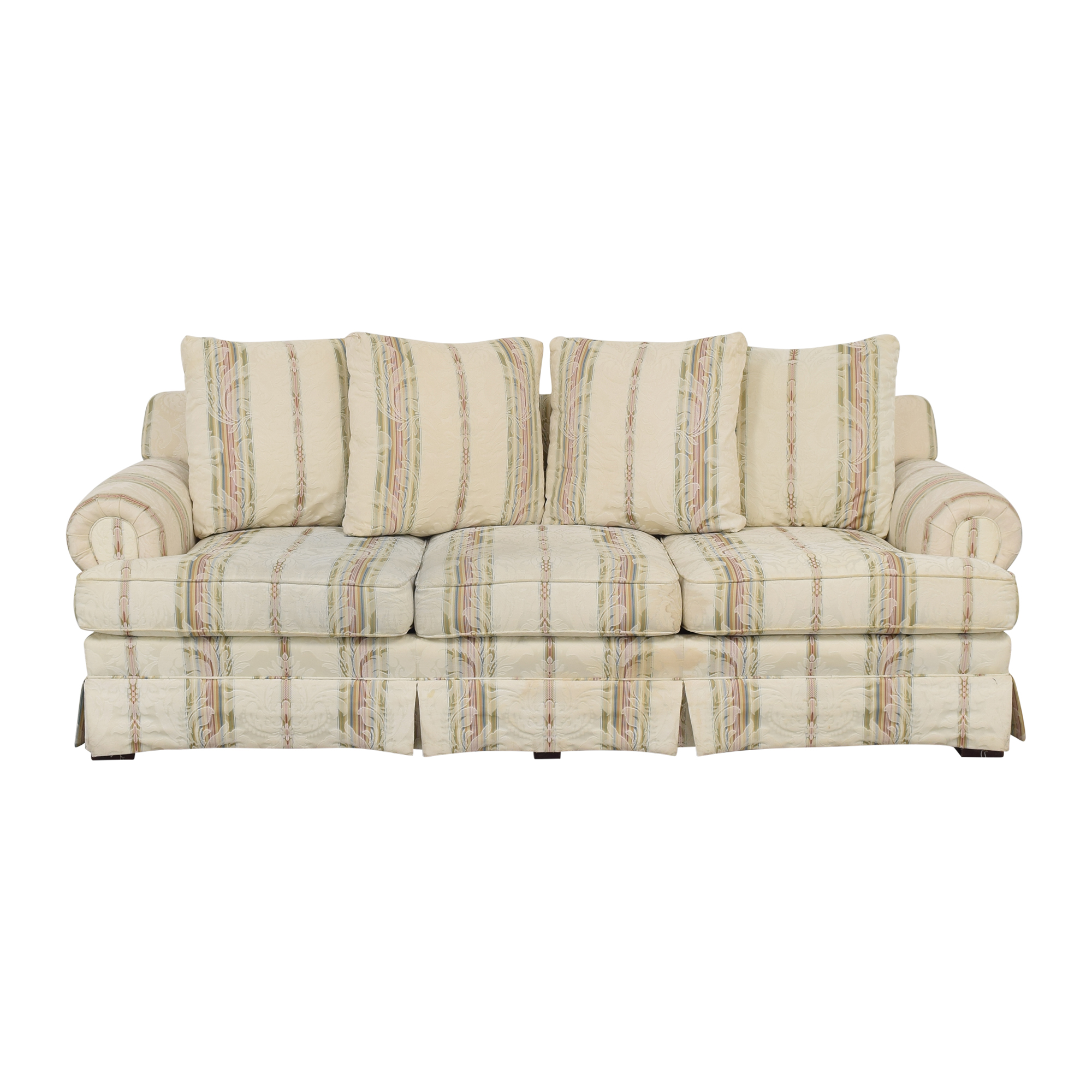 Broyhill Furniture Broyhill Furniture Layered Pillow Sofa
