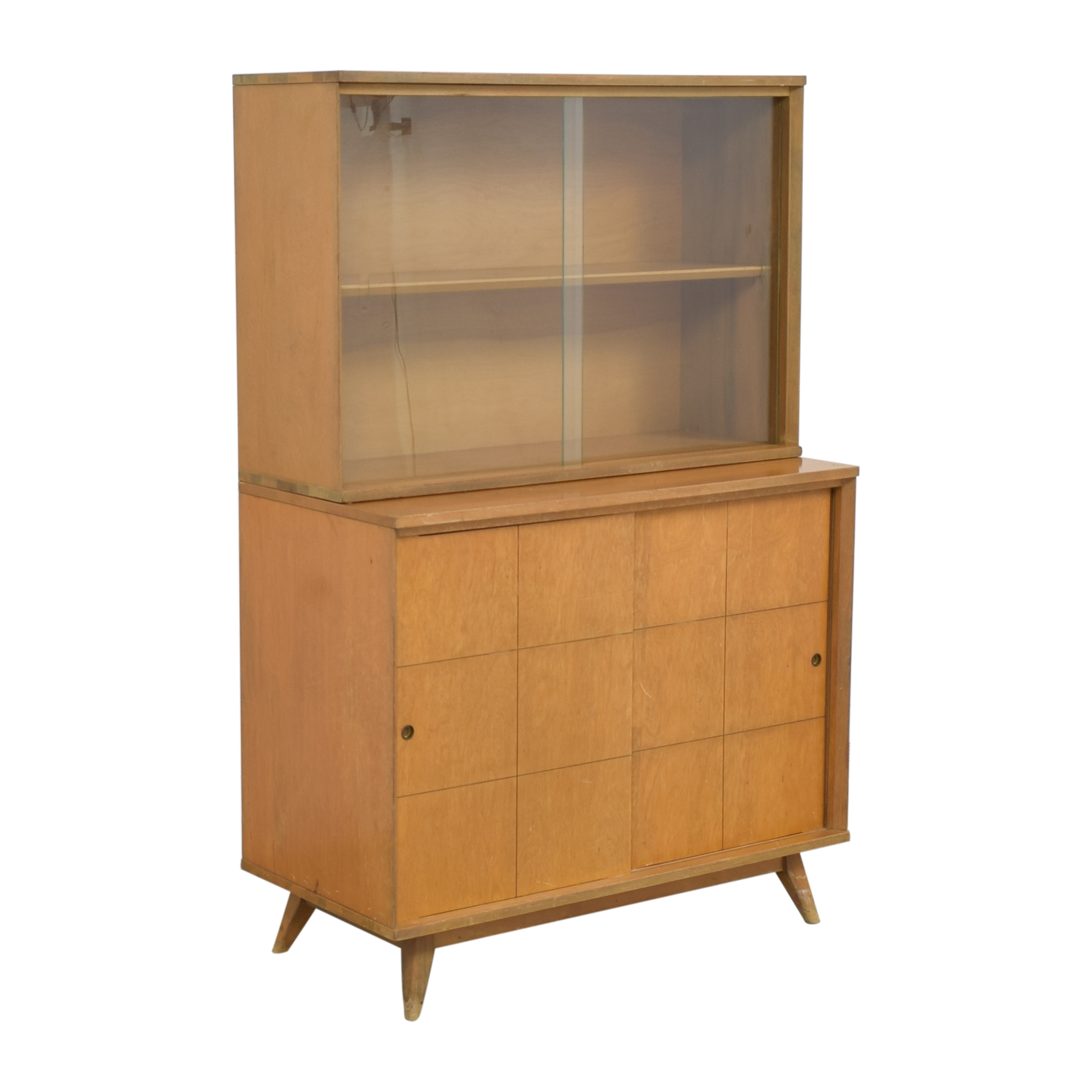 buy Mid-Century Modern Style Hutch  Storage