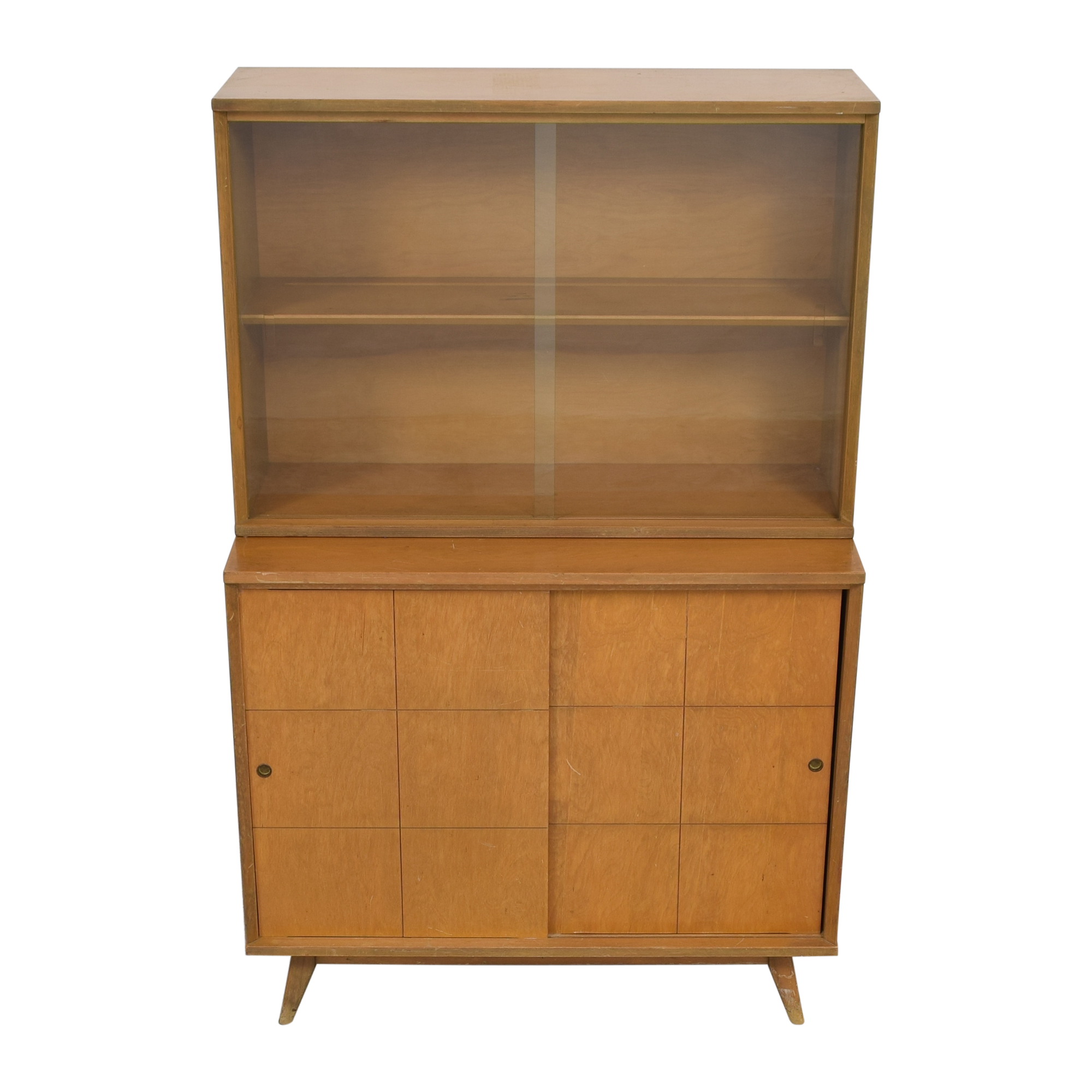 shop Mid-Century Modern Style Hutch  Cabinets & Sideboards