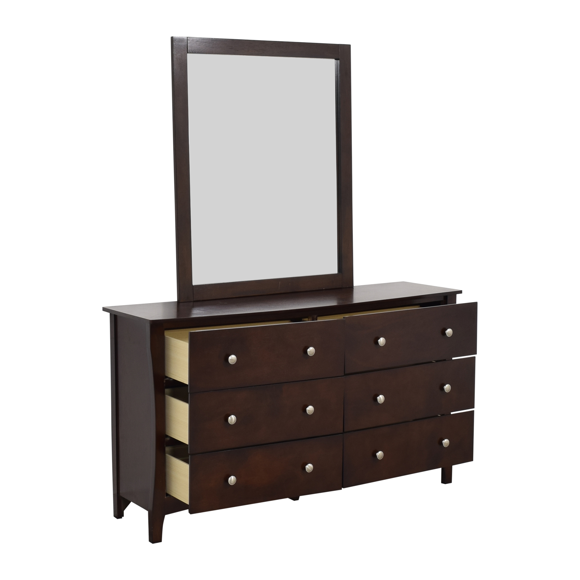 shop Ashley Furniture Rayville Dresser and Mirror Ashley Furniture Storage