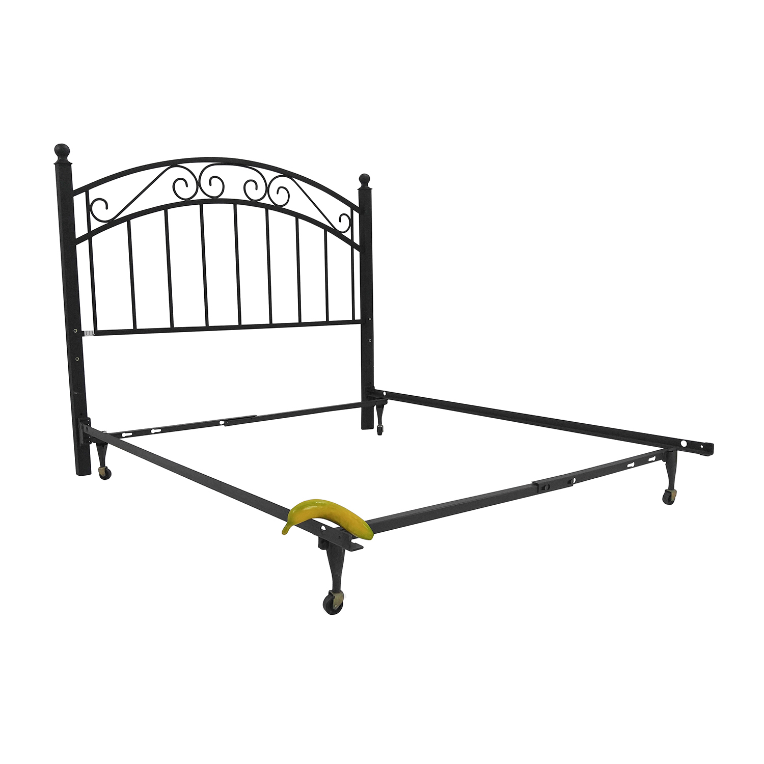 Crate and Barrel Crate and Barrel Full Iron Bed Frame and Headboard nyc