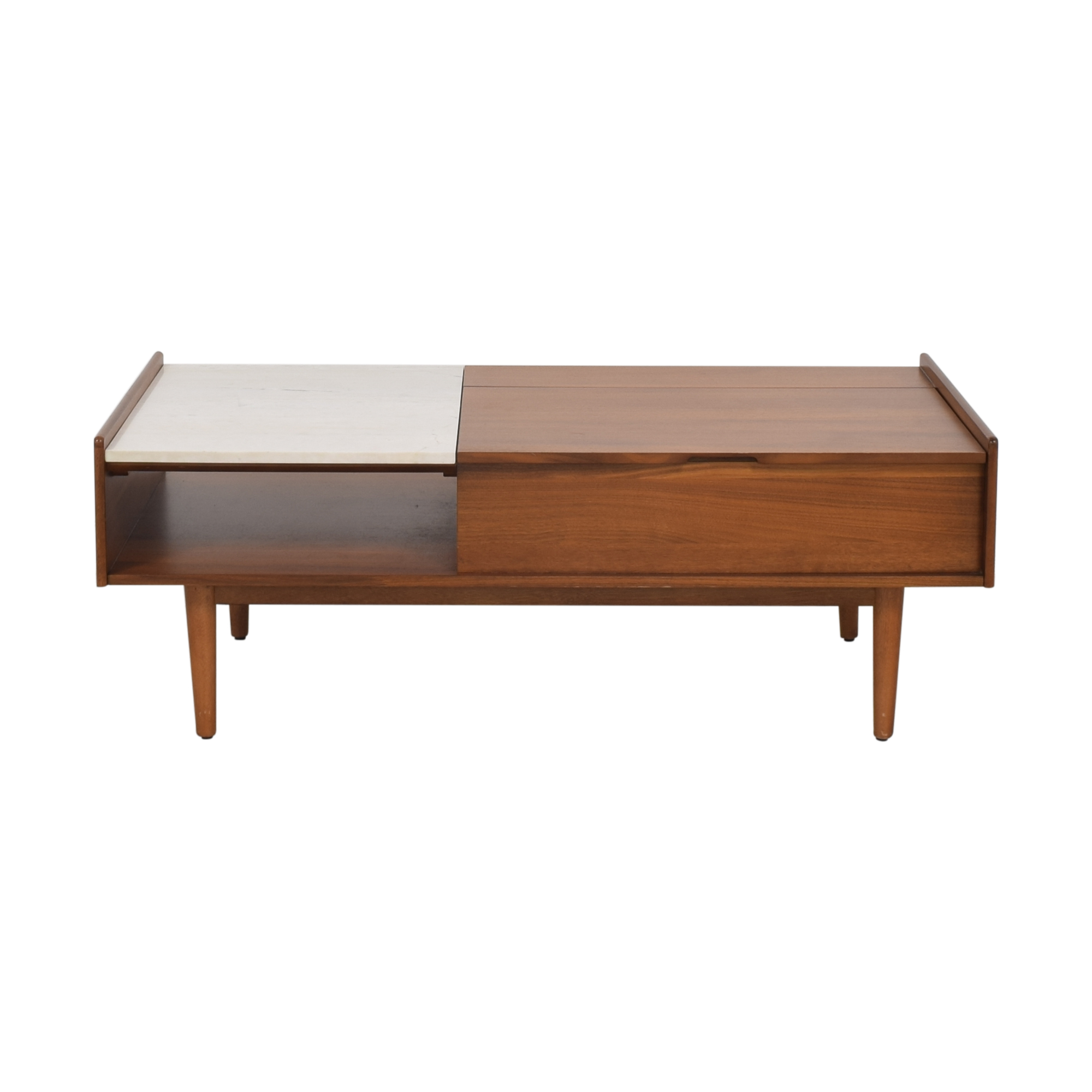 West Elm West Elm Mid-Century Pop-Up Storage Coffee Table nyc