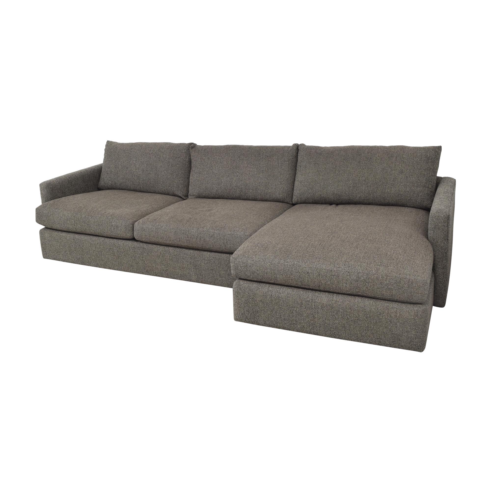 buy Crate & Barrel Crate & Barrel Lounge II 2-Piece Sectional Sofa online