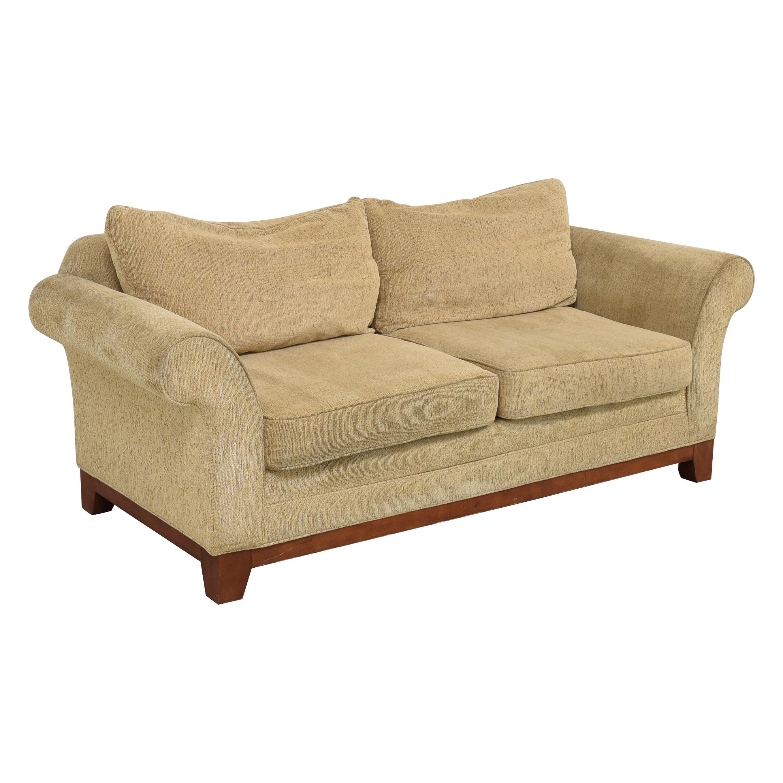 Rolled Arm Two Cushion Sofa ma