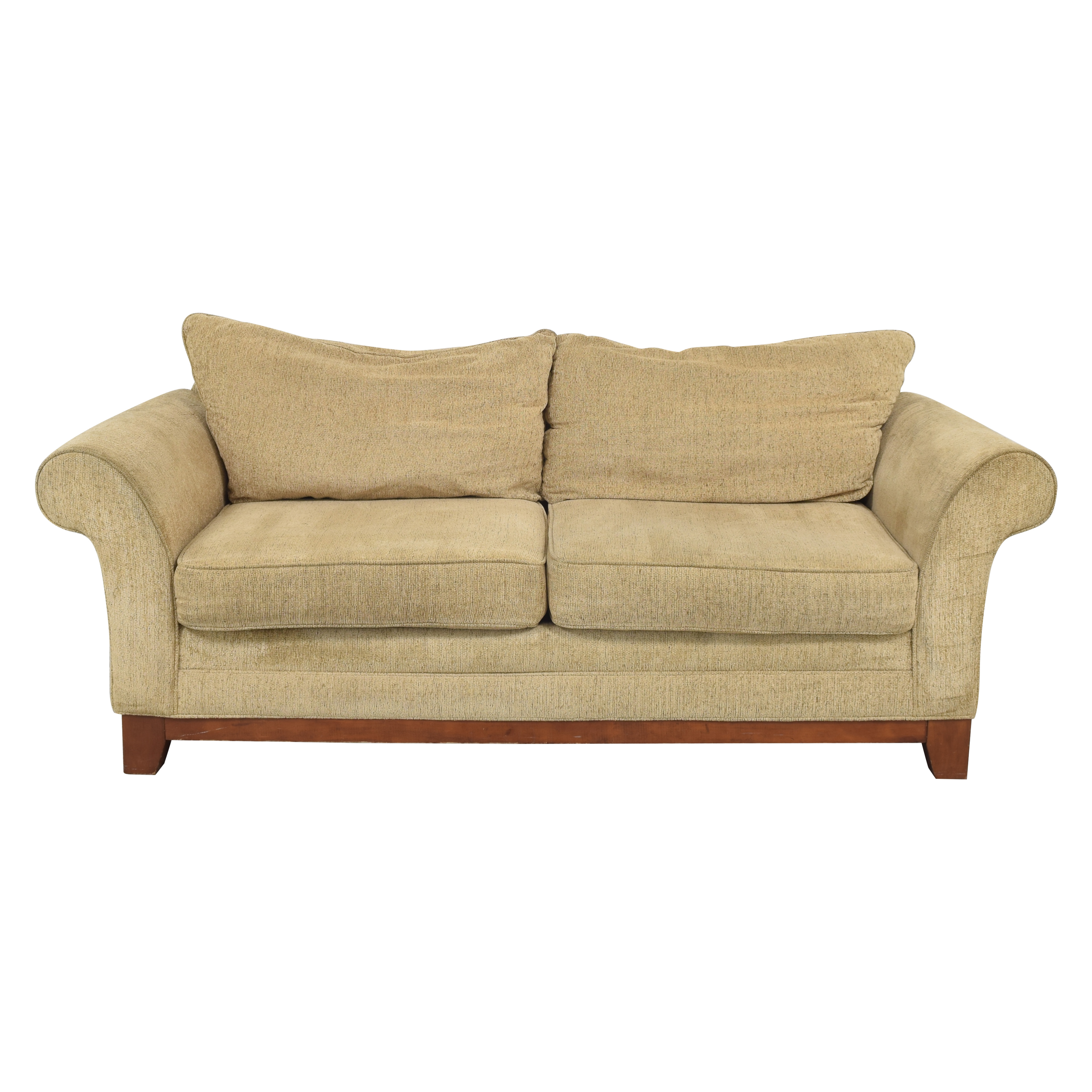 shop  Rolled Arm Two Cushion Sofa online