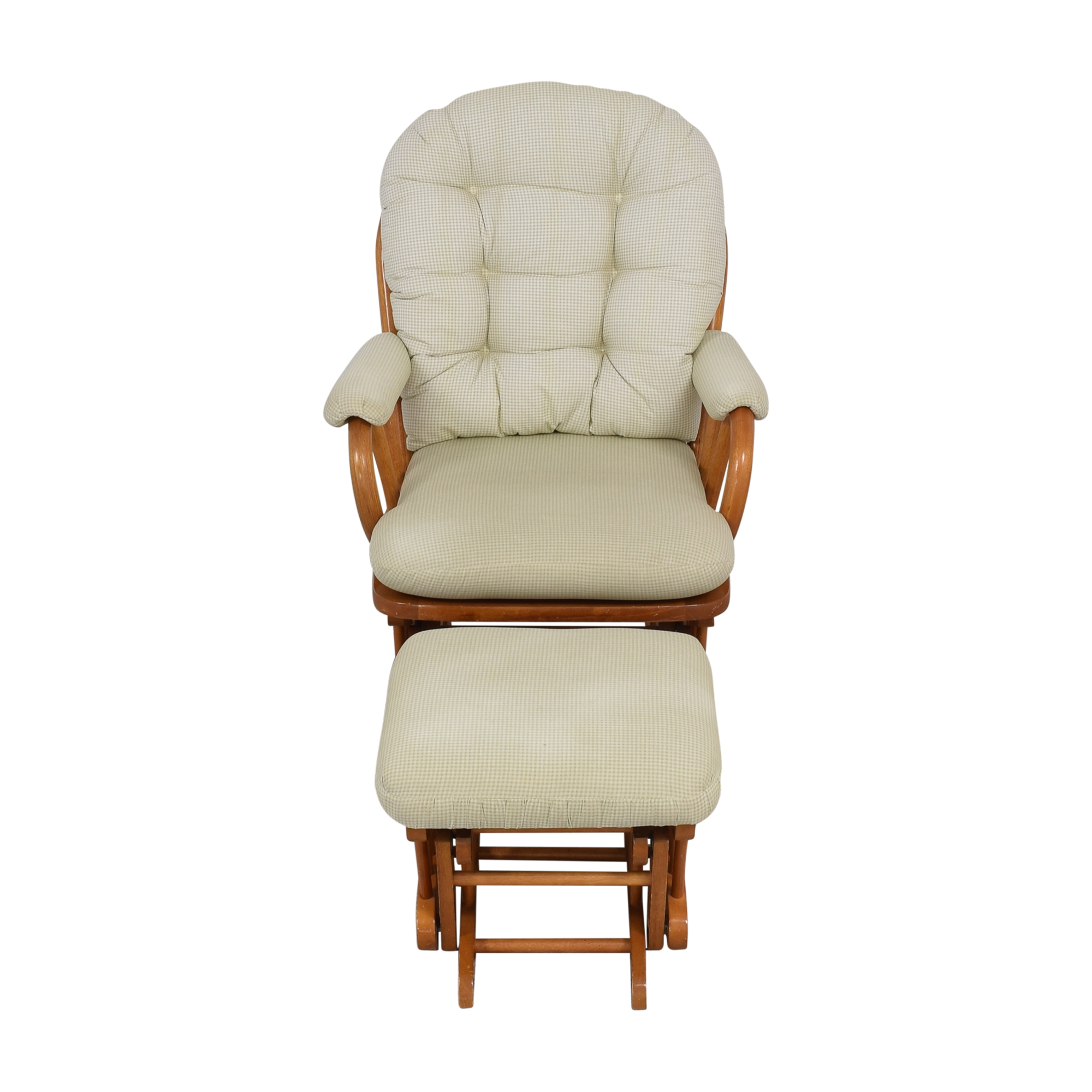 shop Best Chairs Best Chairs Bedazzle Glider and Ottoman online