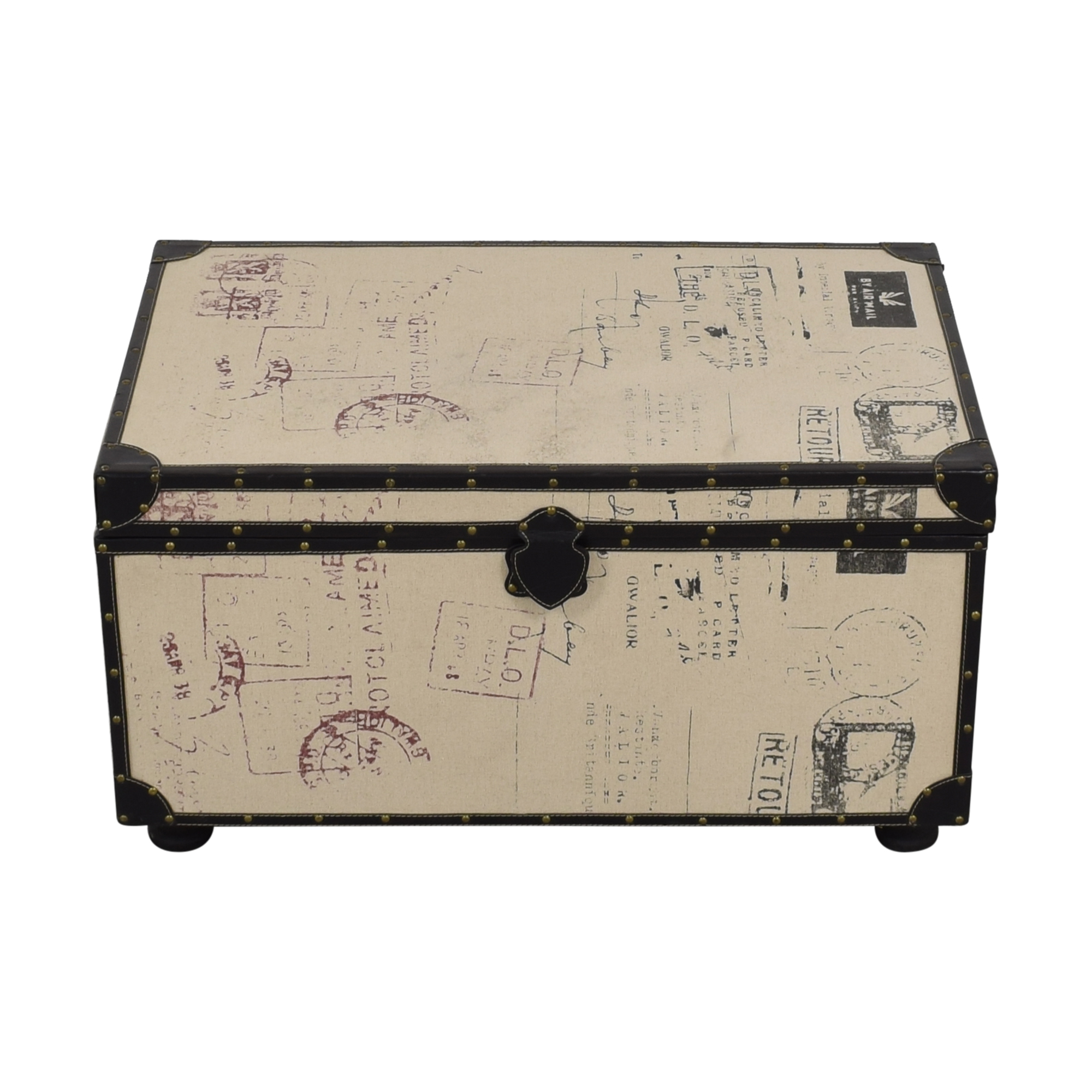 buy Postage Themed Storage Trunk  Dressers