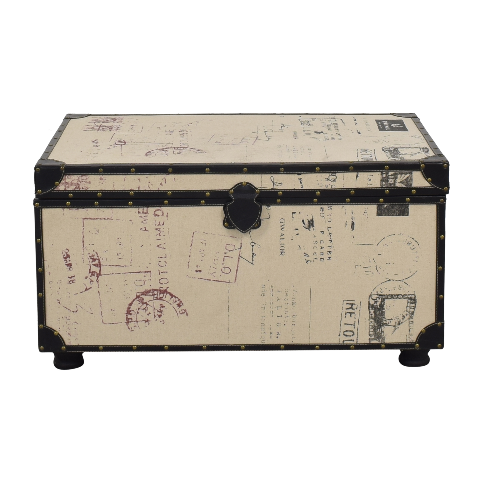 Postage Themed Storage Trunk coupon