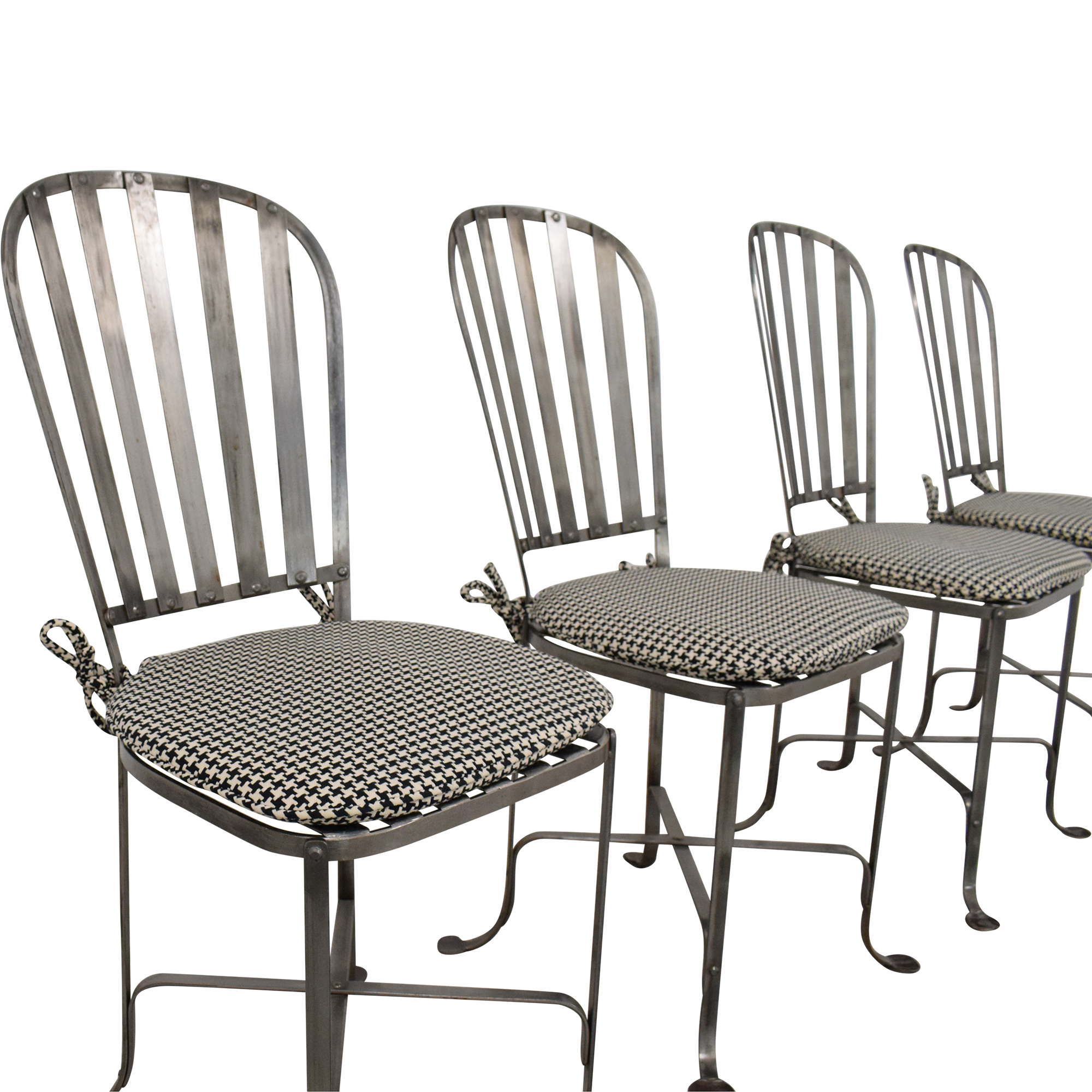 Bloomingdale's Bloomingdale's Bistro Chairs with Cushions for sale